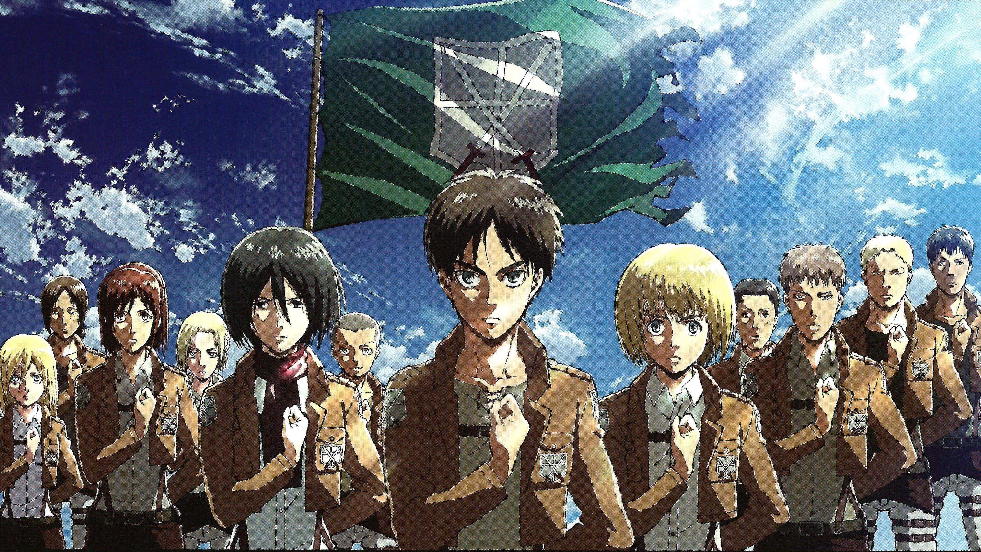1502 Attack On Titan HD Wallpapers