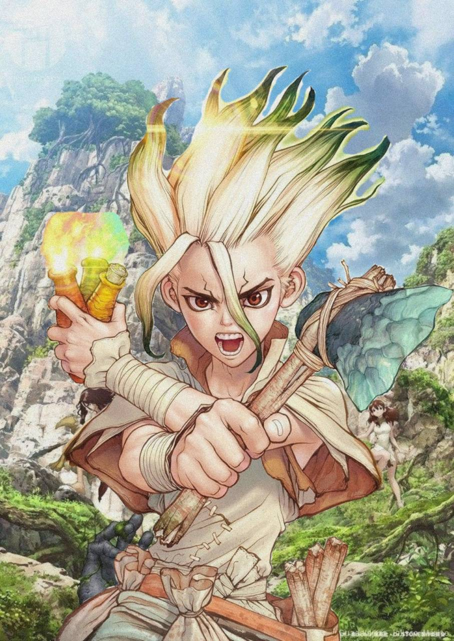 Dr Stone Wallpapers by SlayntSama