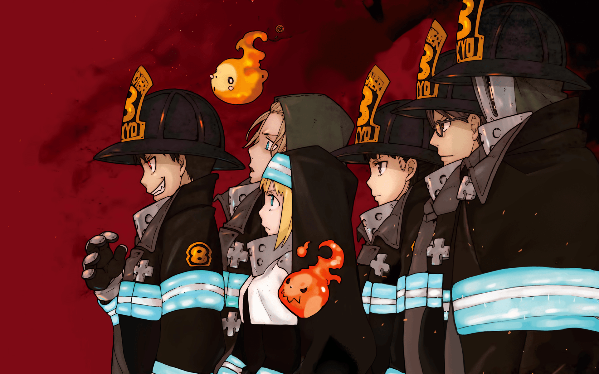 Fire Force Wallpapers