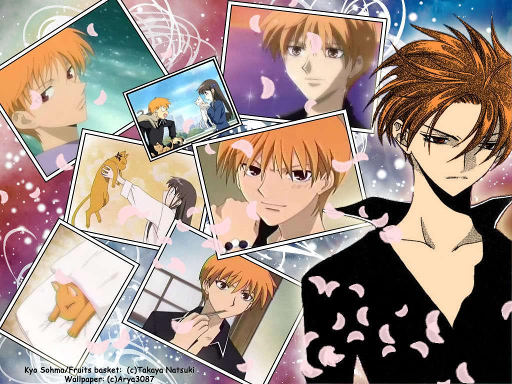 Fruits Basket image Kyo Sohma HD wallpapers and backgrounds photos