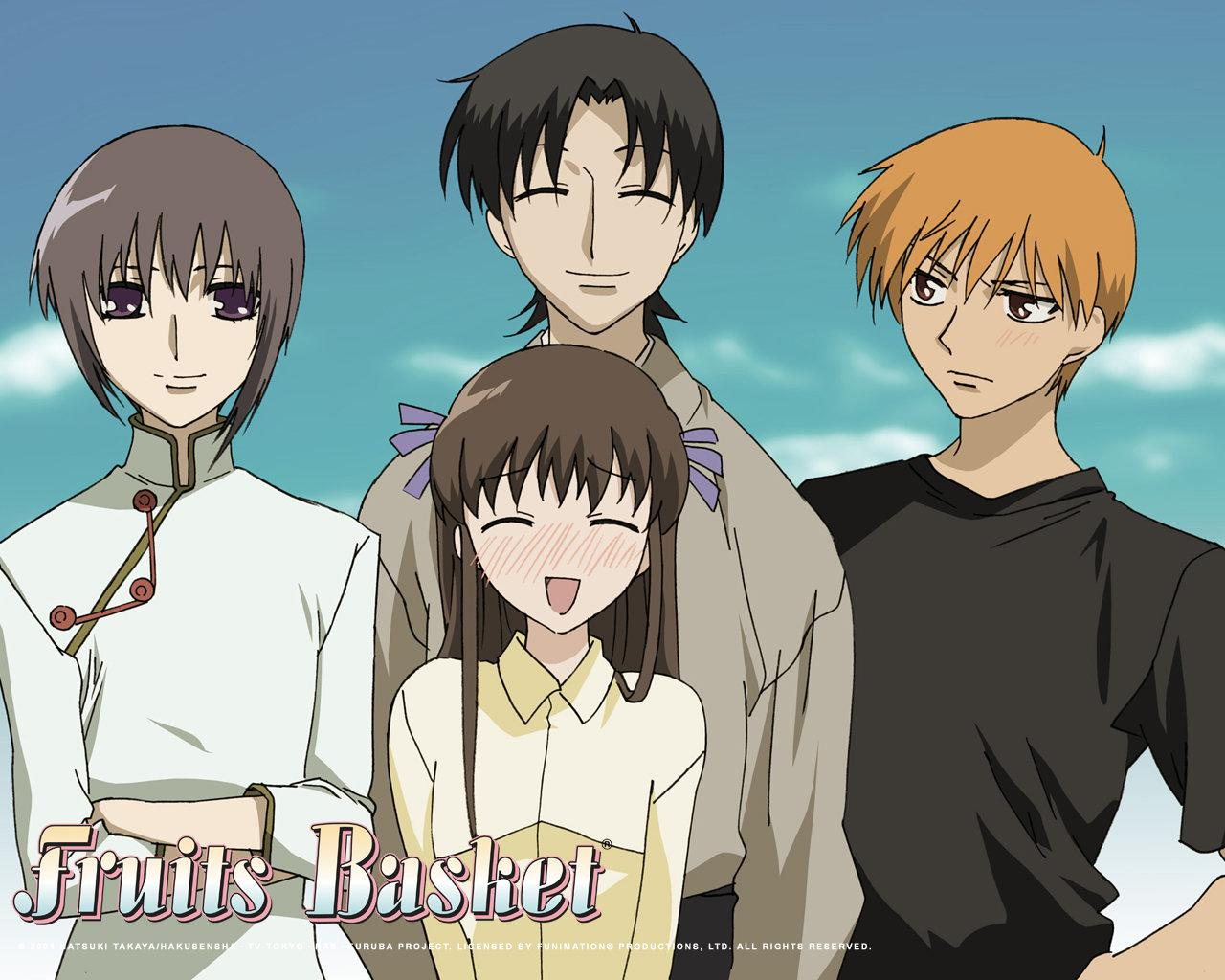 Fruits Basket wallpapers HD for desktop backgrounds