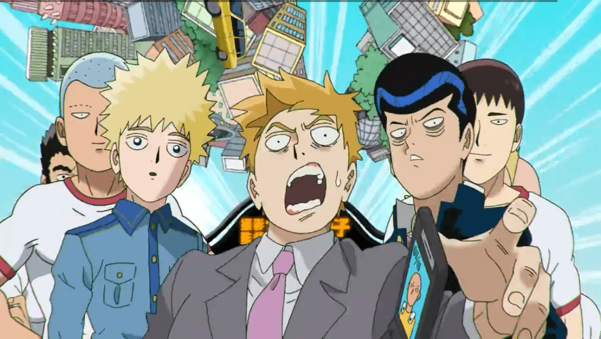 Reigen's Wallpapers on the 'Mob Psycho 100 II' OP is Saitama