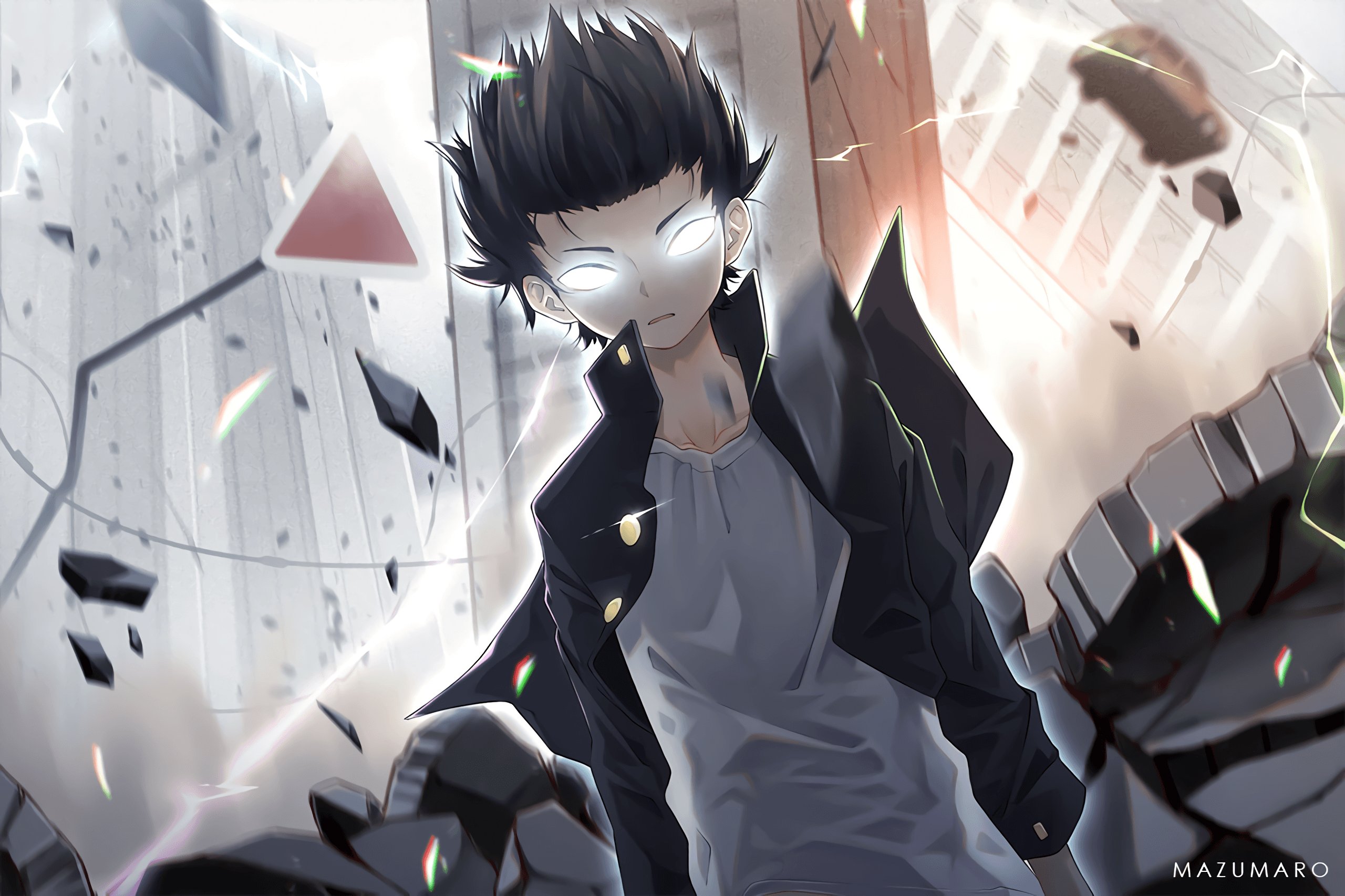 64 Mob Psycho 100 HD Wallpapers