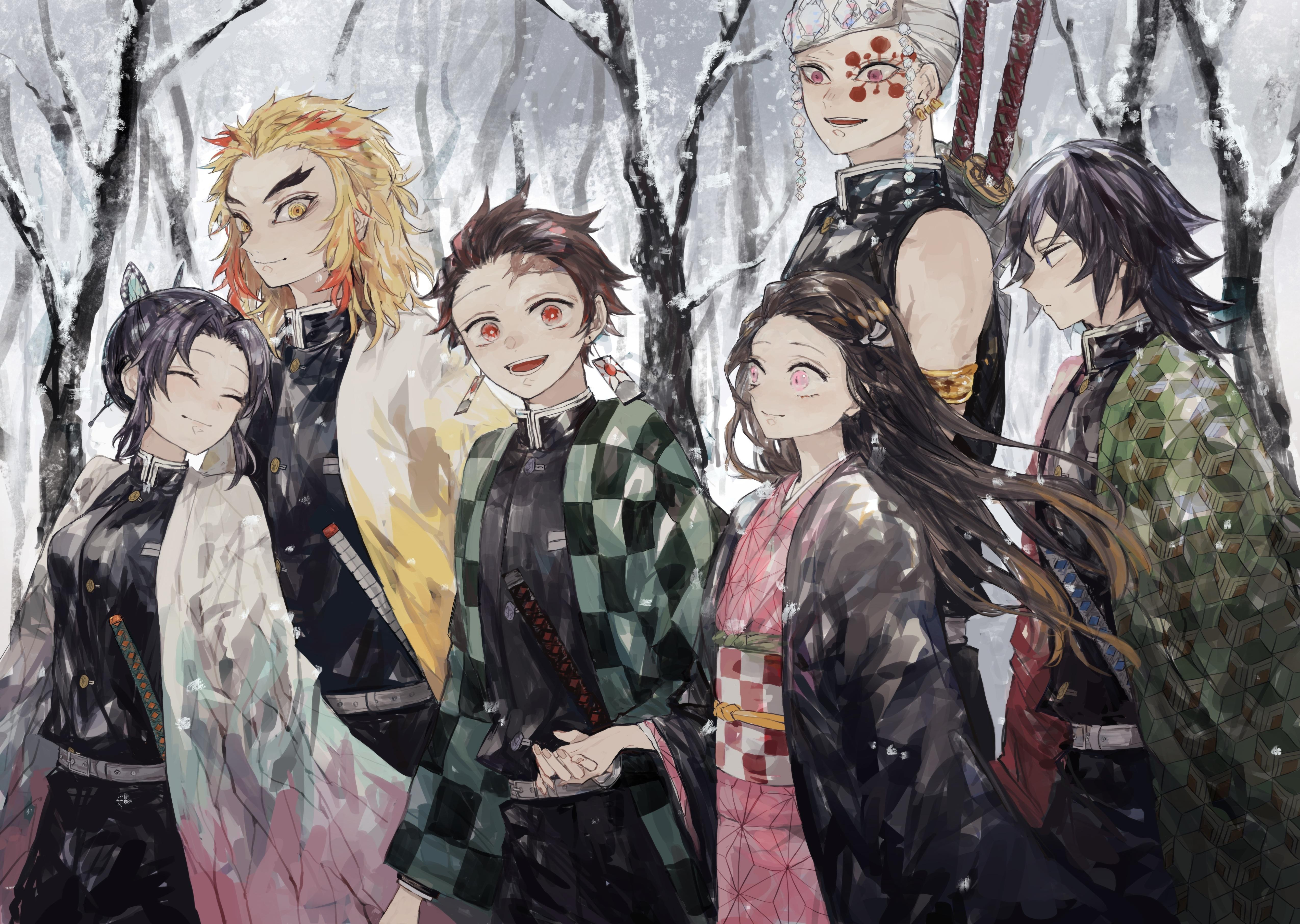 Demon Slayer: Kimetsu no Yaiba 4k Ultra HD Wallpapers