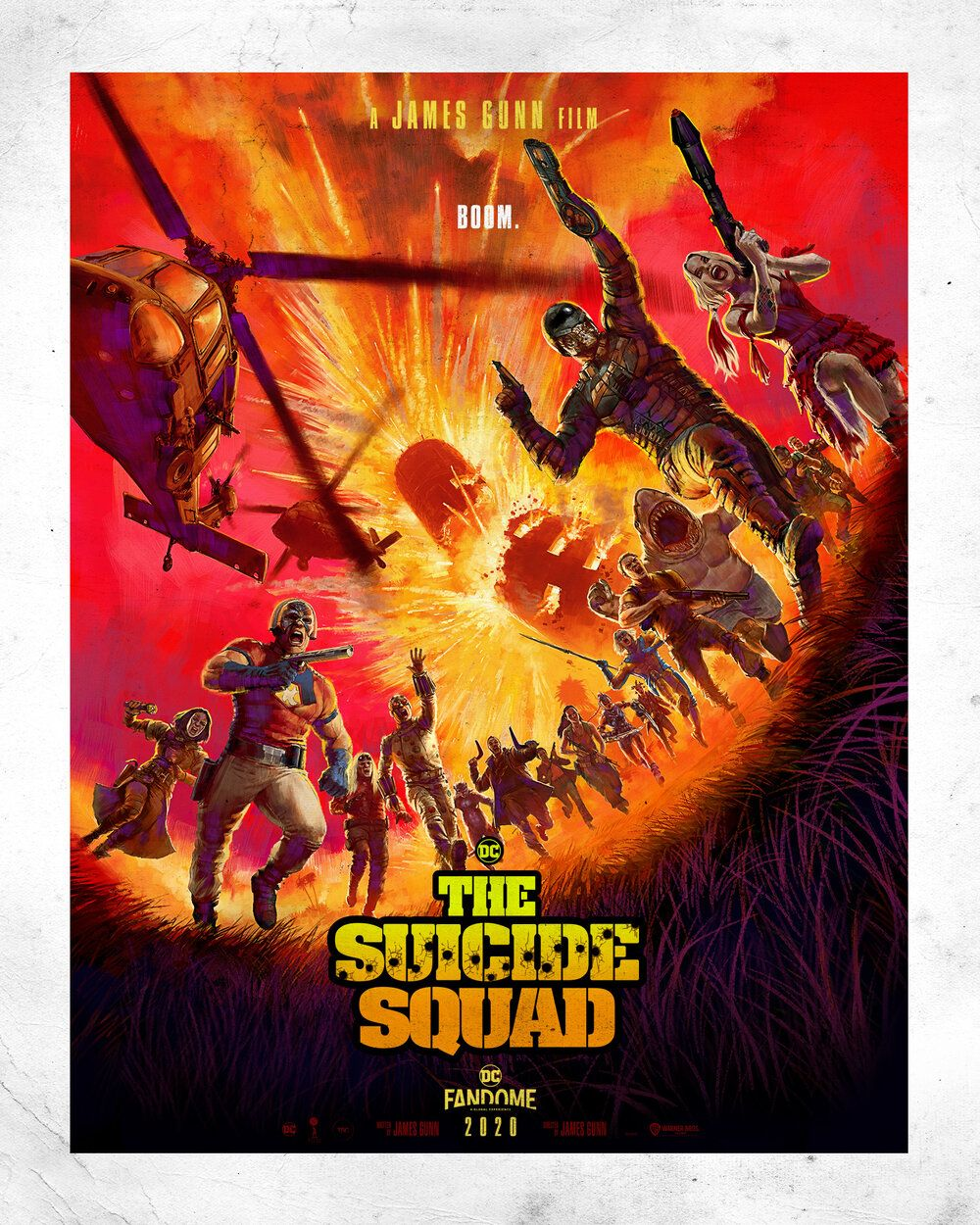 Two Cool Posters Shared For James Gunn's THE SUICIDE SQUAD!
