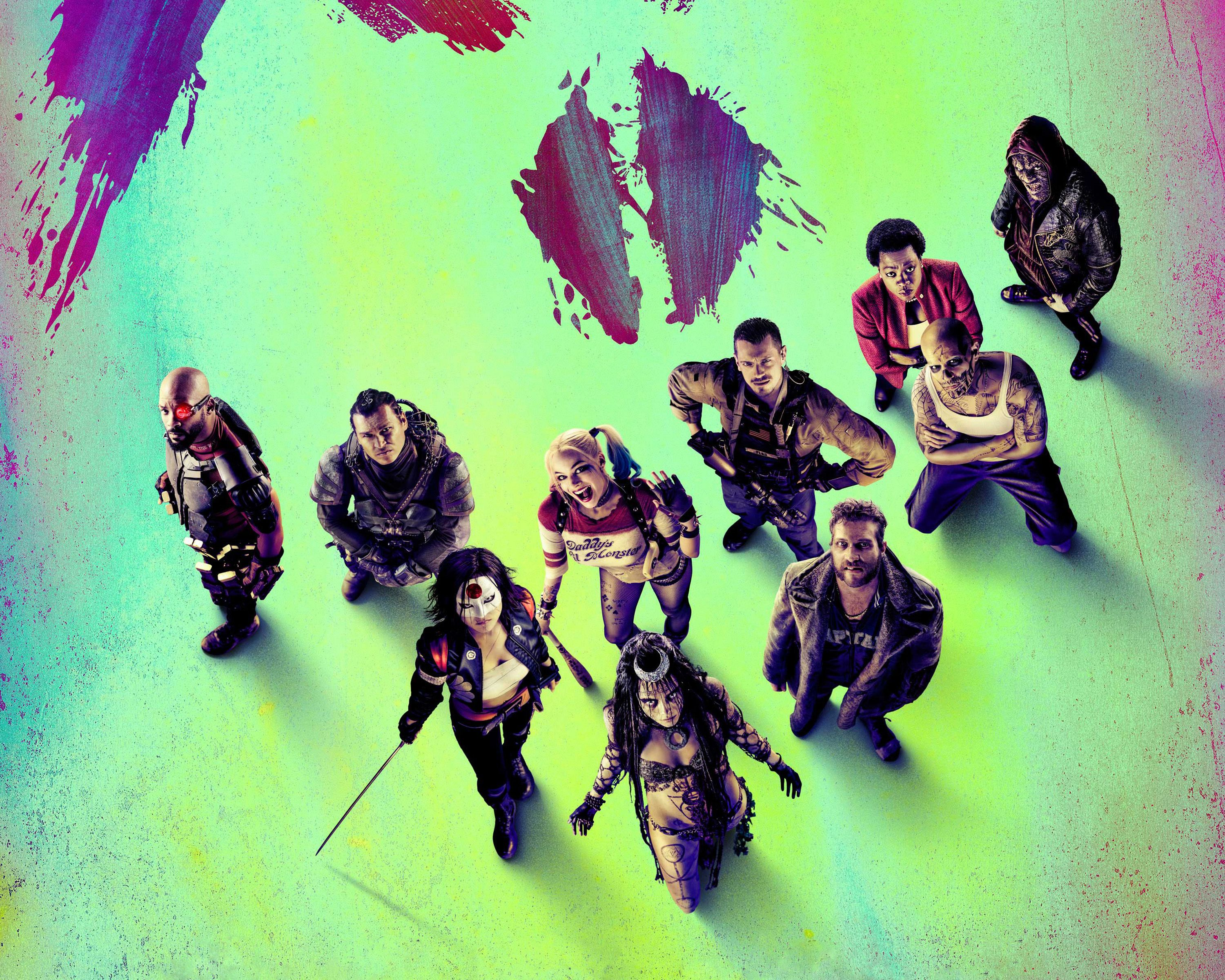 Suicide Squad Movie 4K Widescreen Desktop Wallpapers 1143 3000x2400 px ~ PickyWallpapers