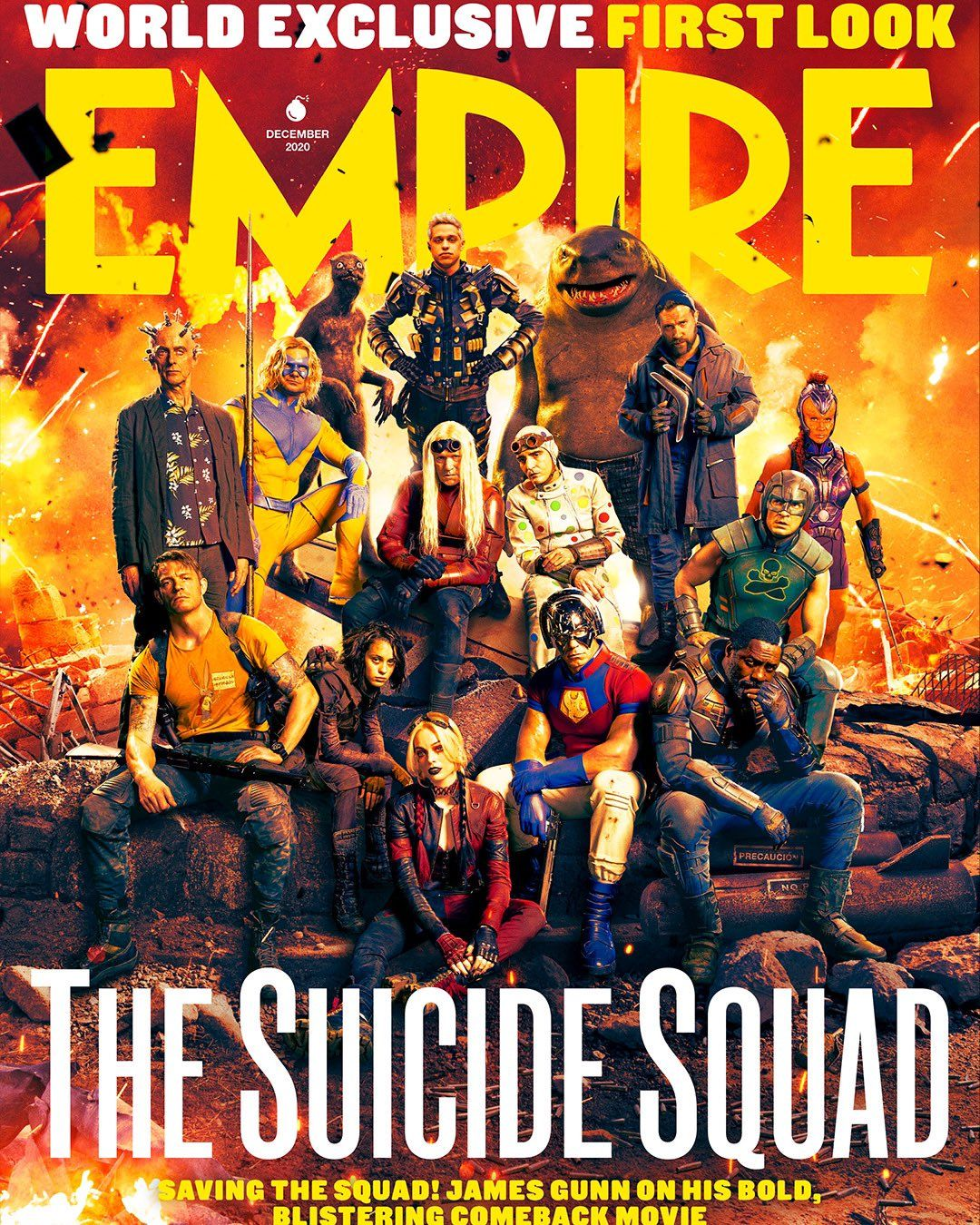 The Suicide Squad: See the Whole Cast of the DC Movie Assembled