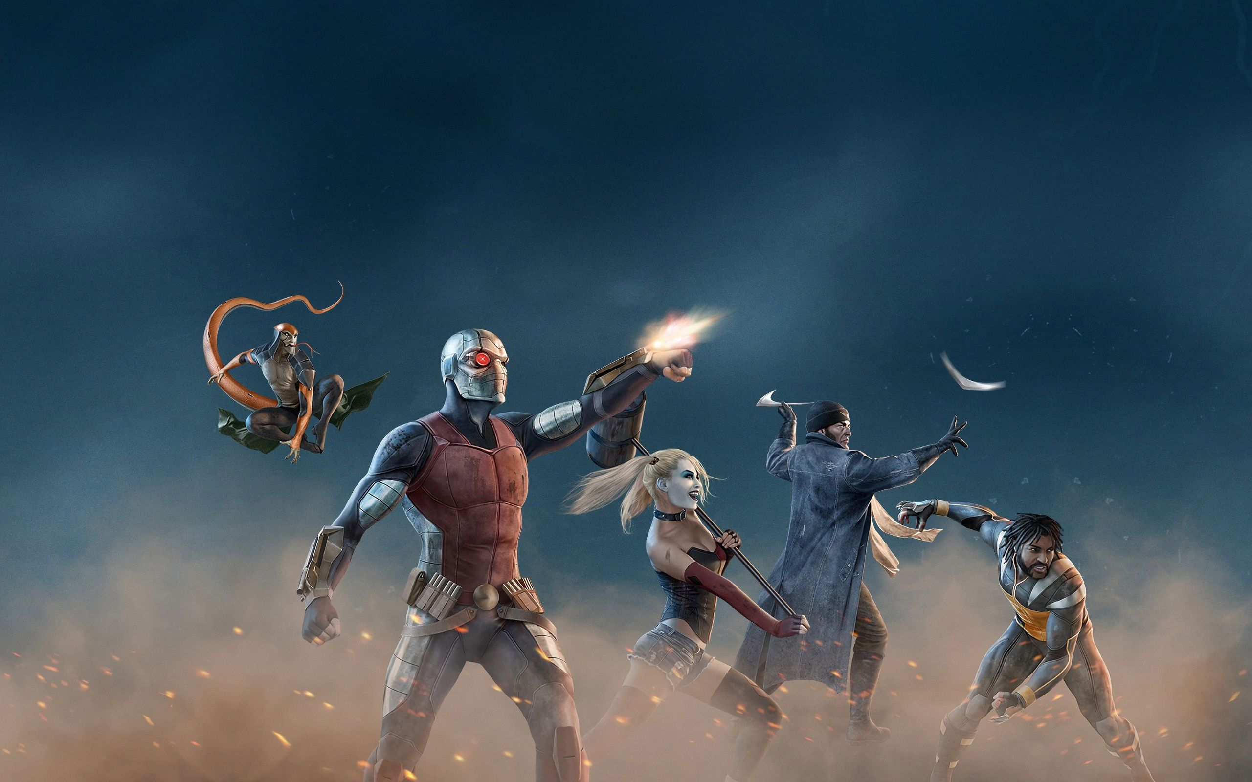 2560x1600 Suicide Squad Hell to Pay 2560x1600 Resolution Wallpapers