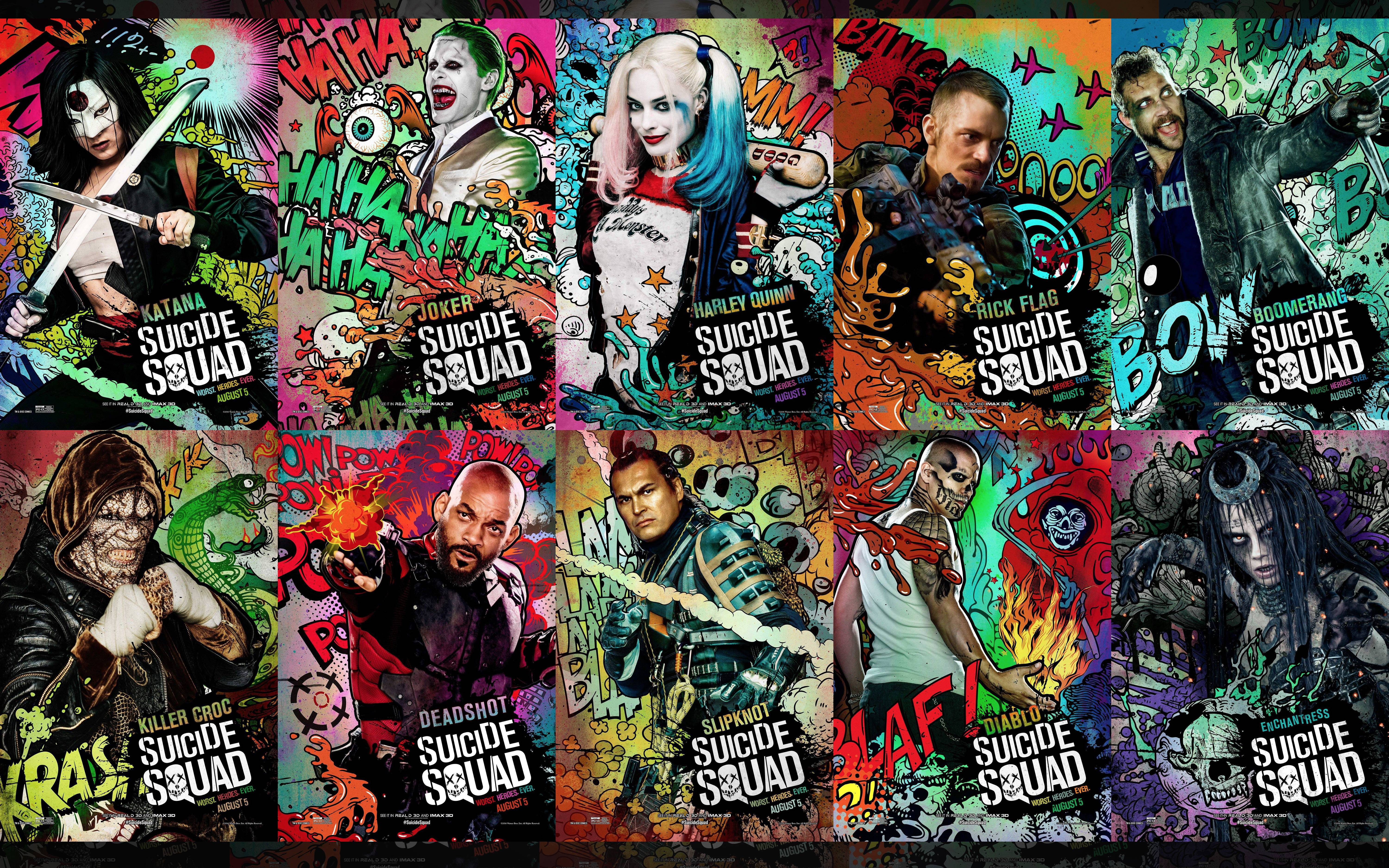 Cool Suicide Squad Wallpapers