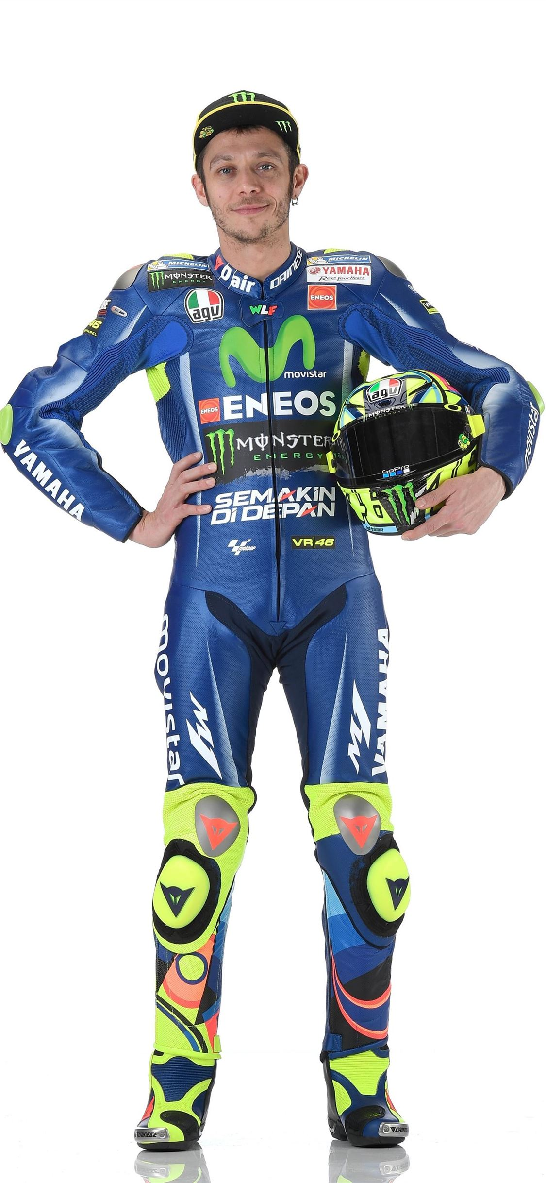 Free Valentino Rossi and MotoGP Valentino iPhone X Wallpapers Free Download