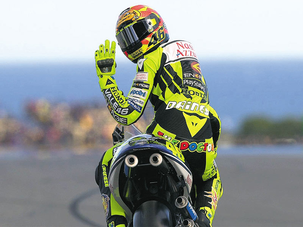 Free download Moto Gp Valentino Rossi Wallpapers HD 2 [1024x768] for your Desktop, Mobile & Tablet