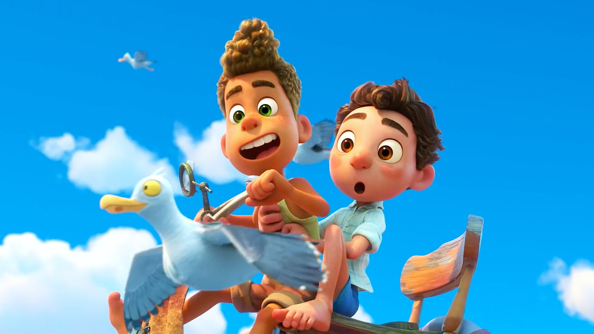 Pixar Says Luca Isn't Gay, but the Movie Speaks for Itself