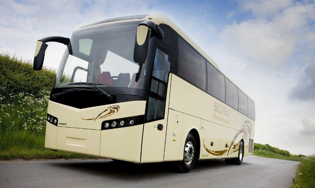 volvo bus HD wallpapers For Desktop wallpapers at GetHDPic