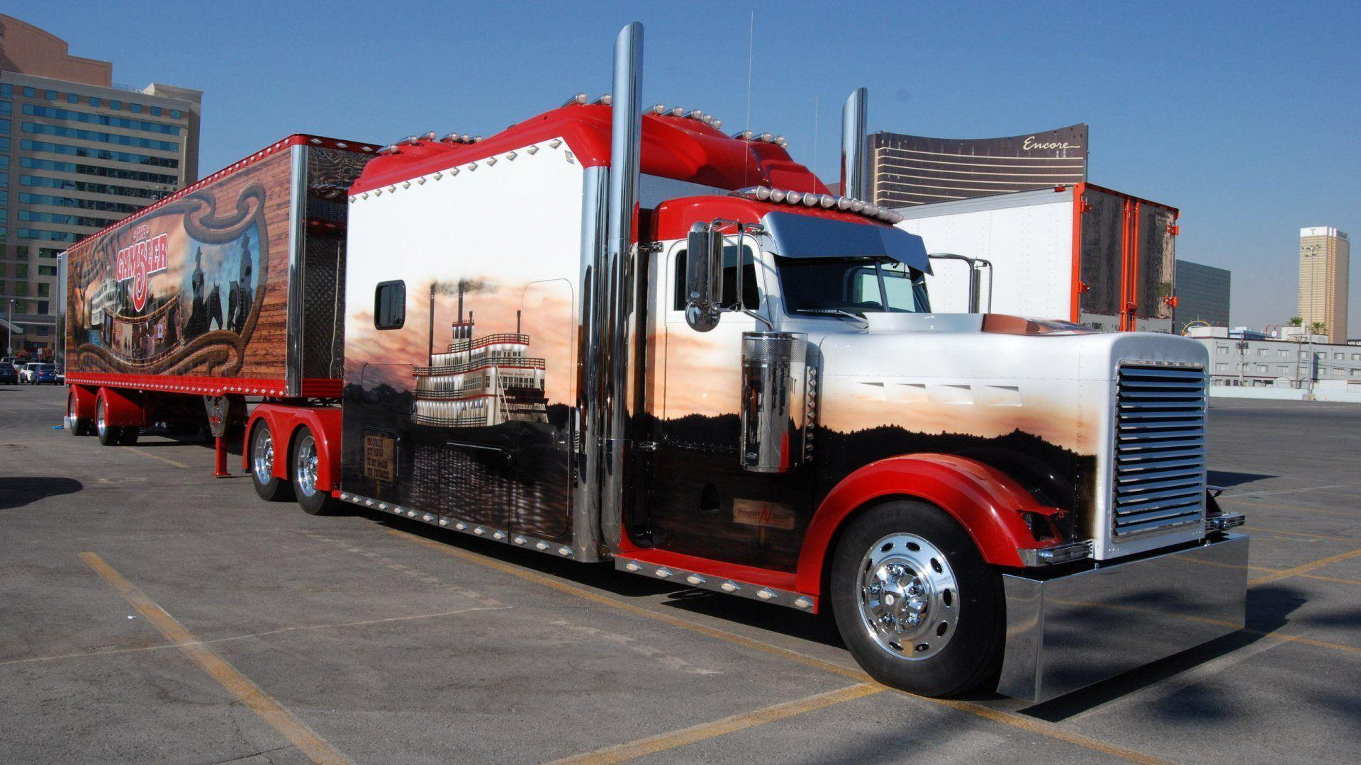 Image For > Cool Semi Trucks Wallpapers