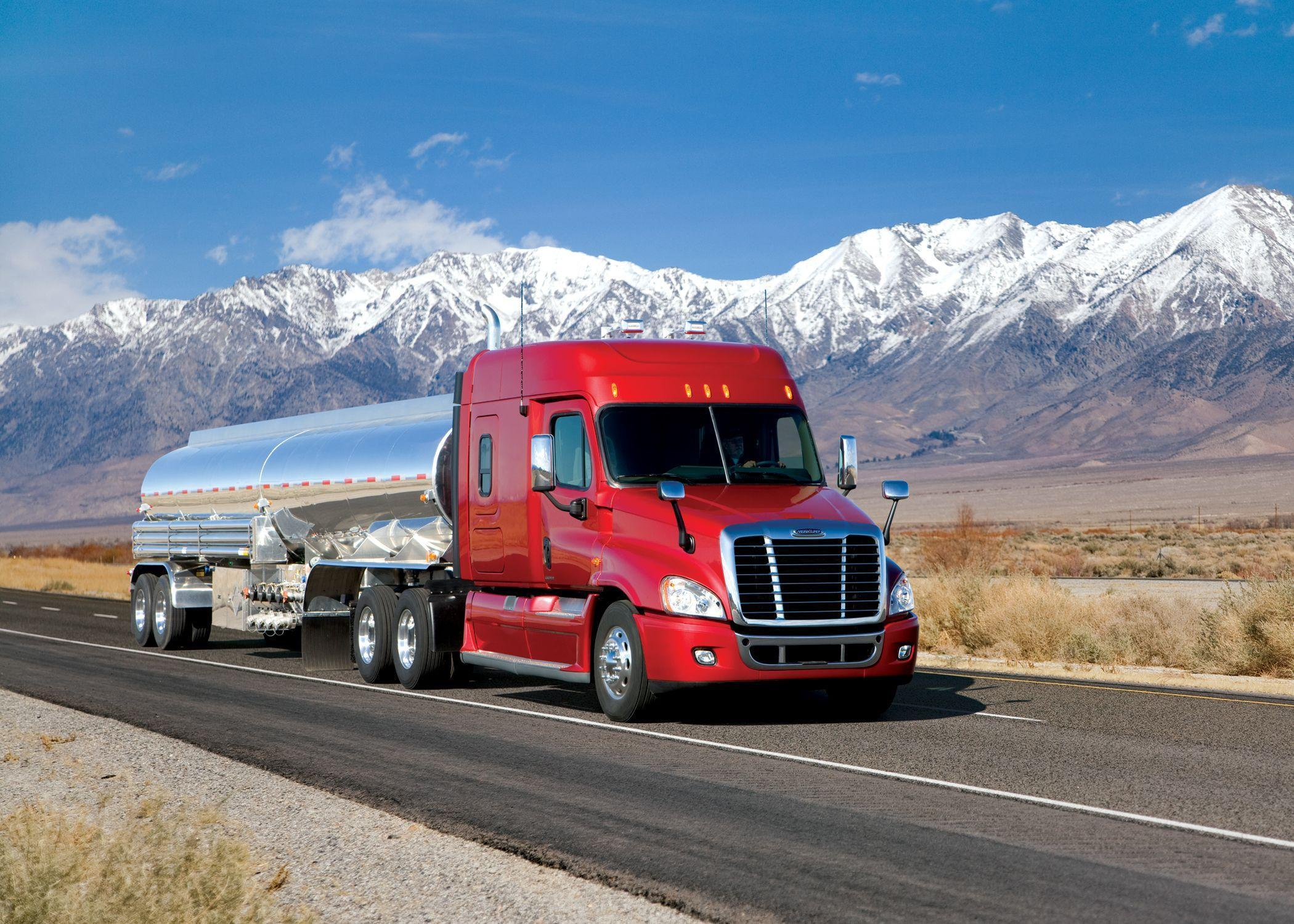 Wallpapers lorry Freightliner Trucks Cars 2100x1500