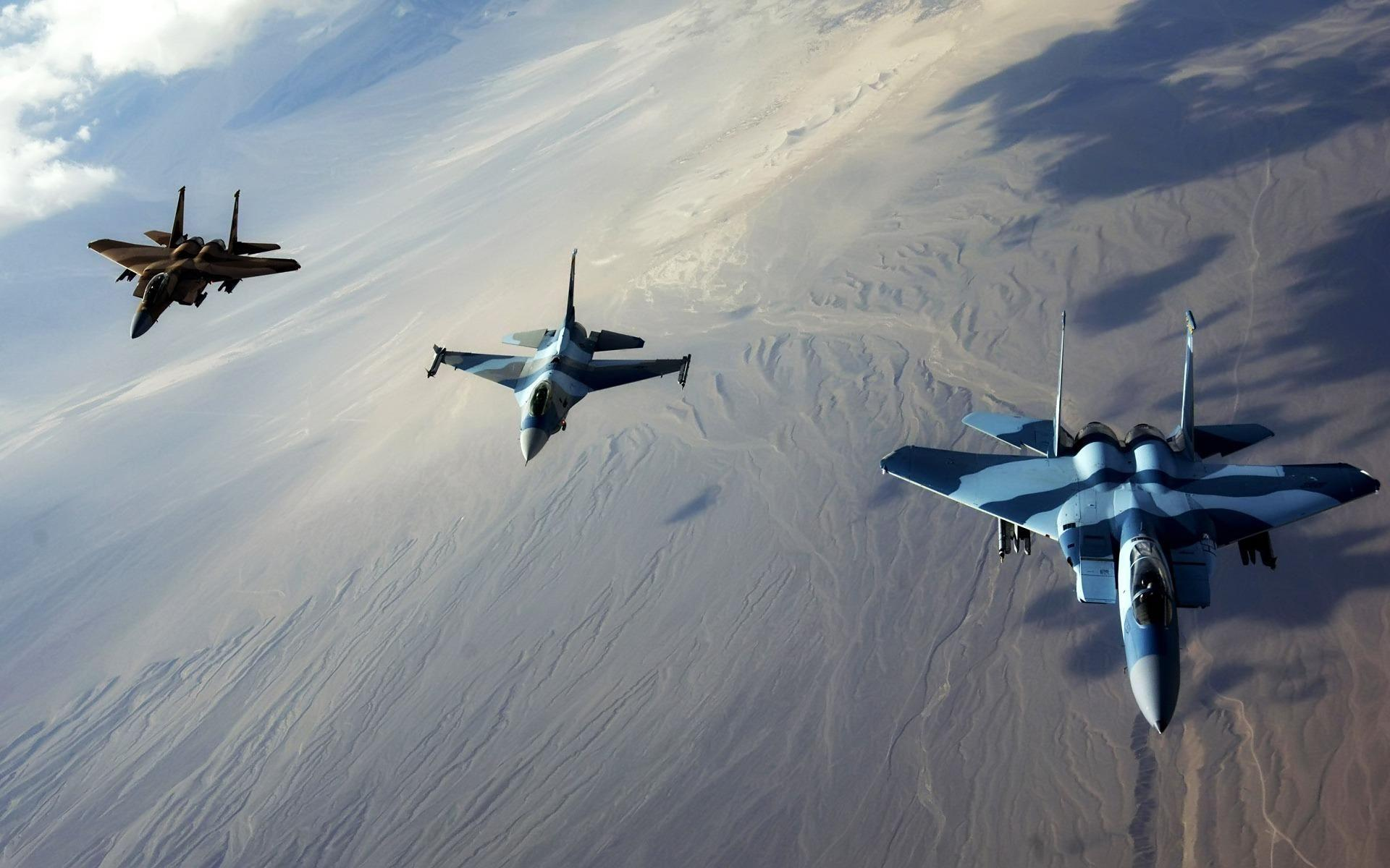 Jet Fly Fighter Aircraft Wallpapers