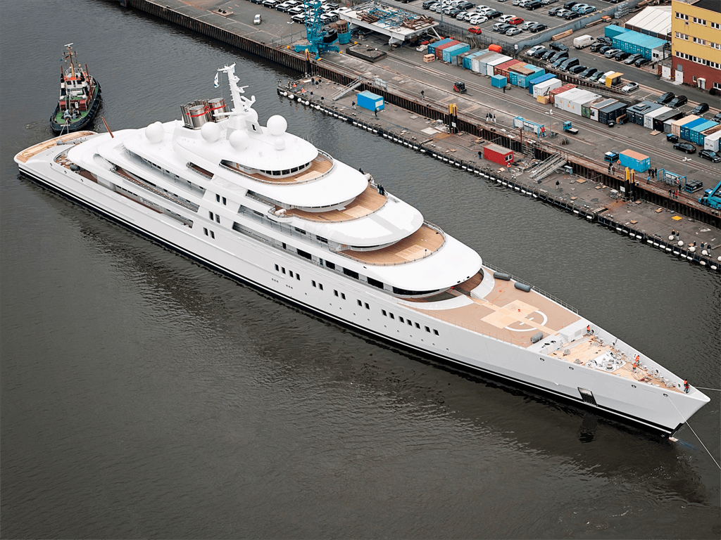 The world's most expensive superyachts come with helipads, movie