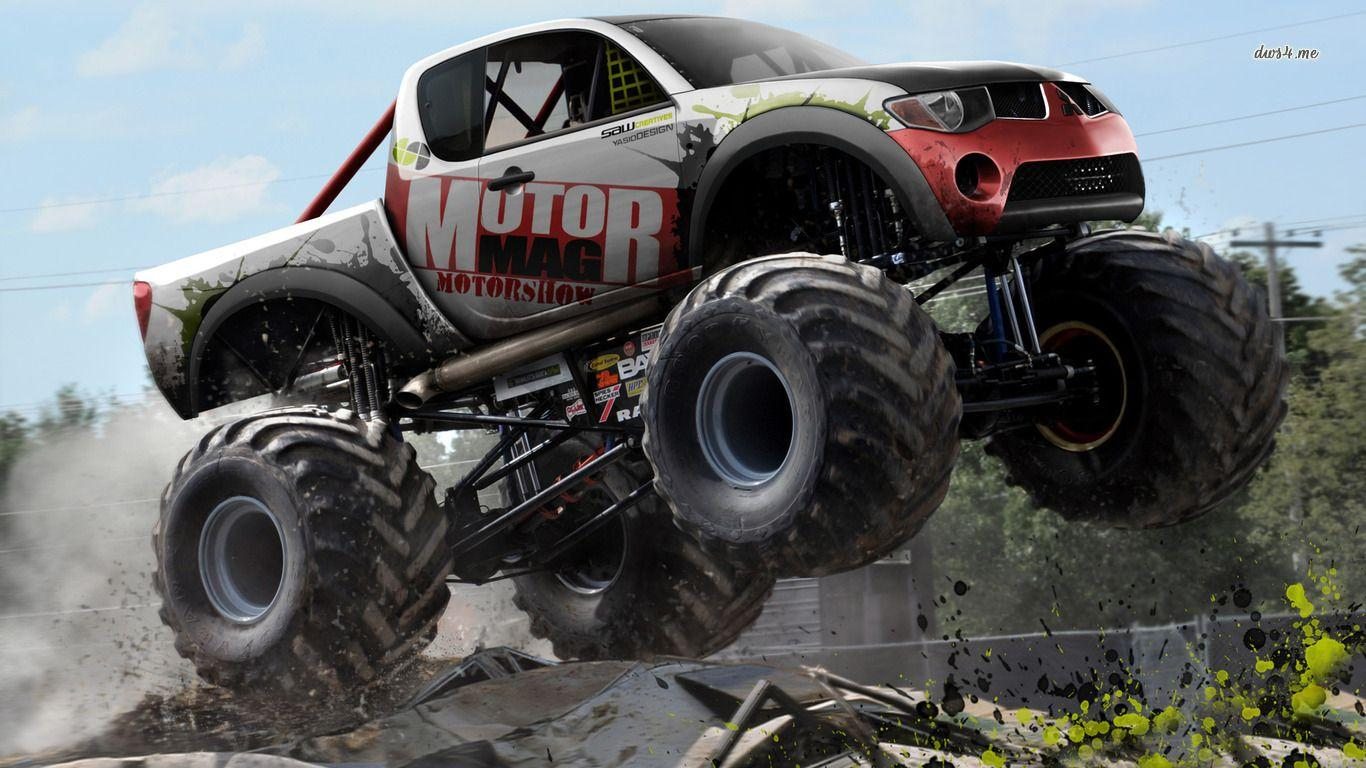 monster truck Wallpapers and Backgrounds Image