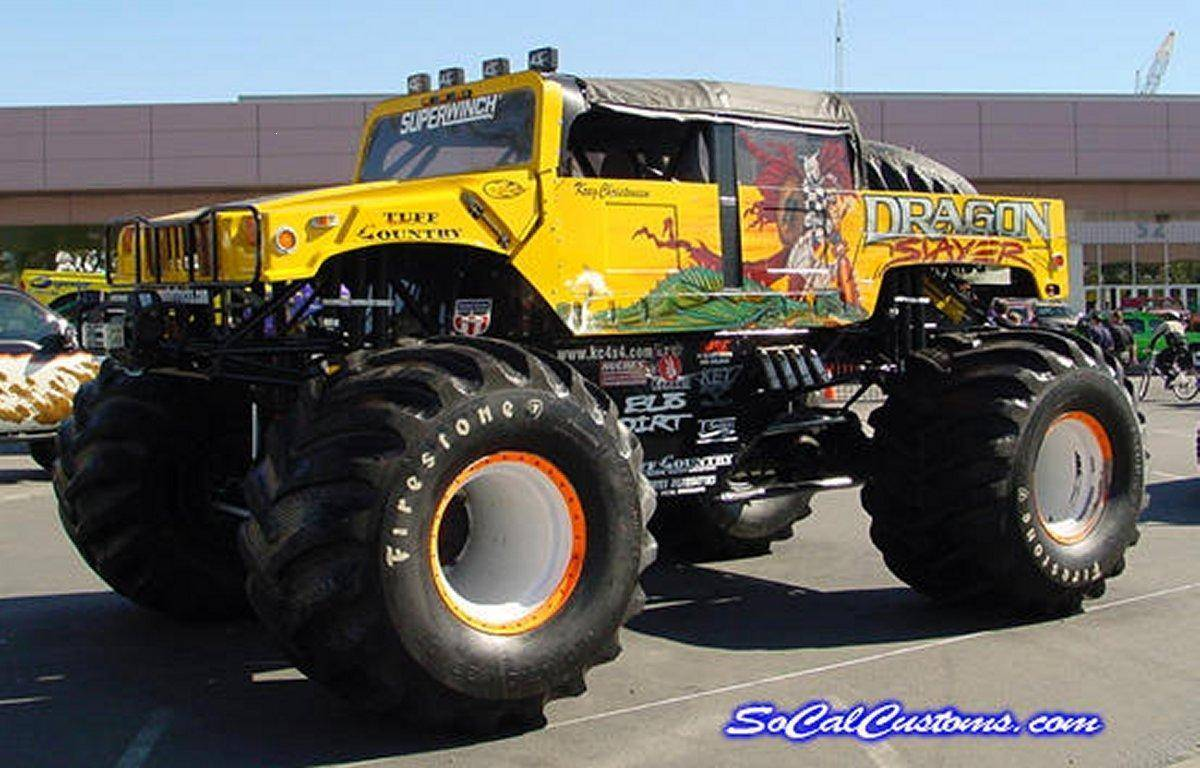Monster Truck Wallpapers, High Quality Monster Truck Backgrounds and