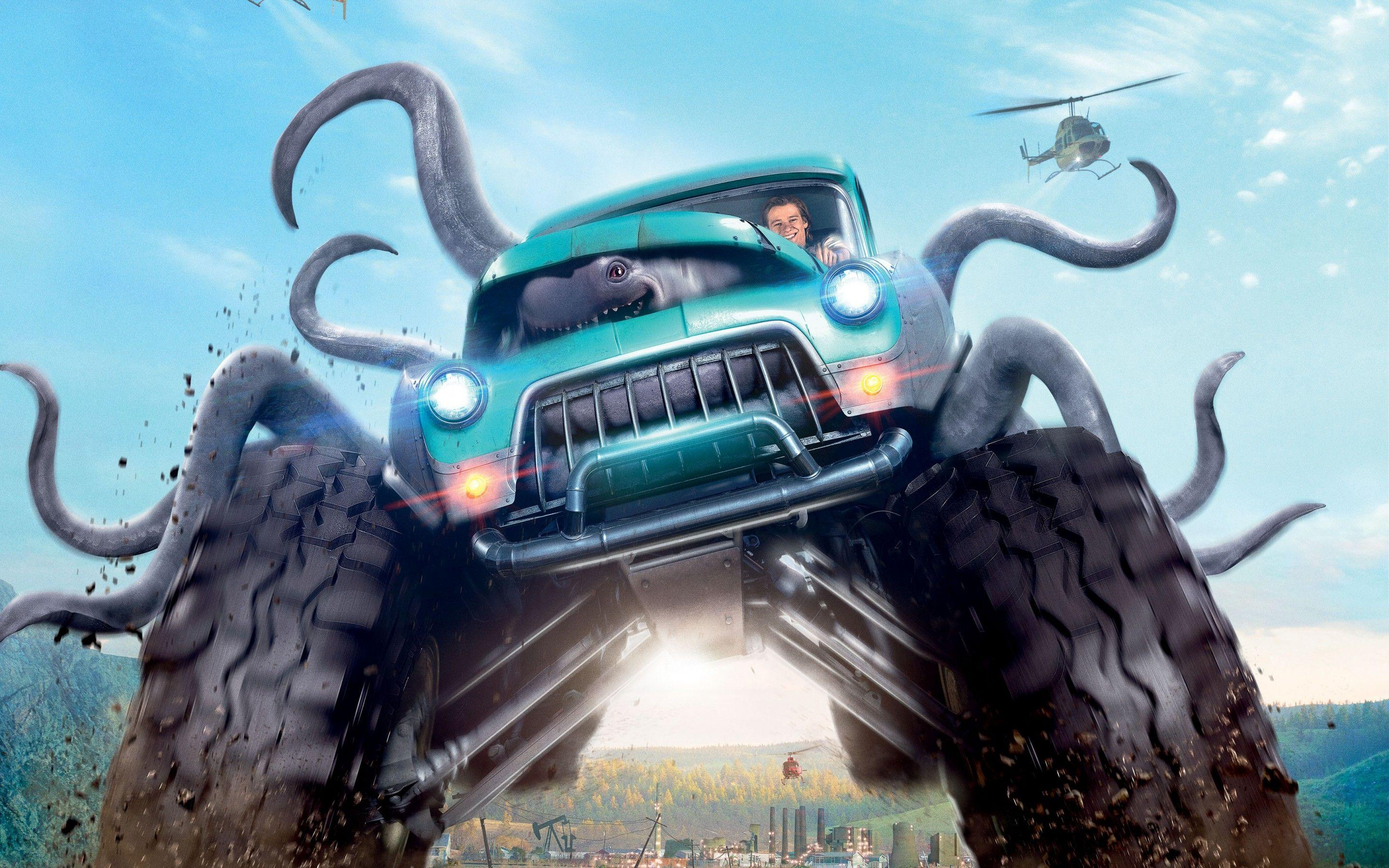 Wallpapers Monster Trucks, Animation, 2016, Movies,