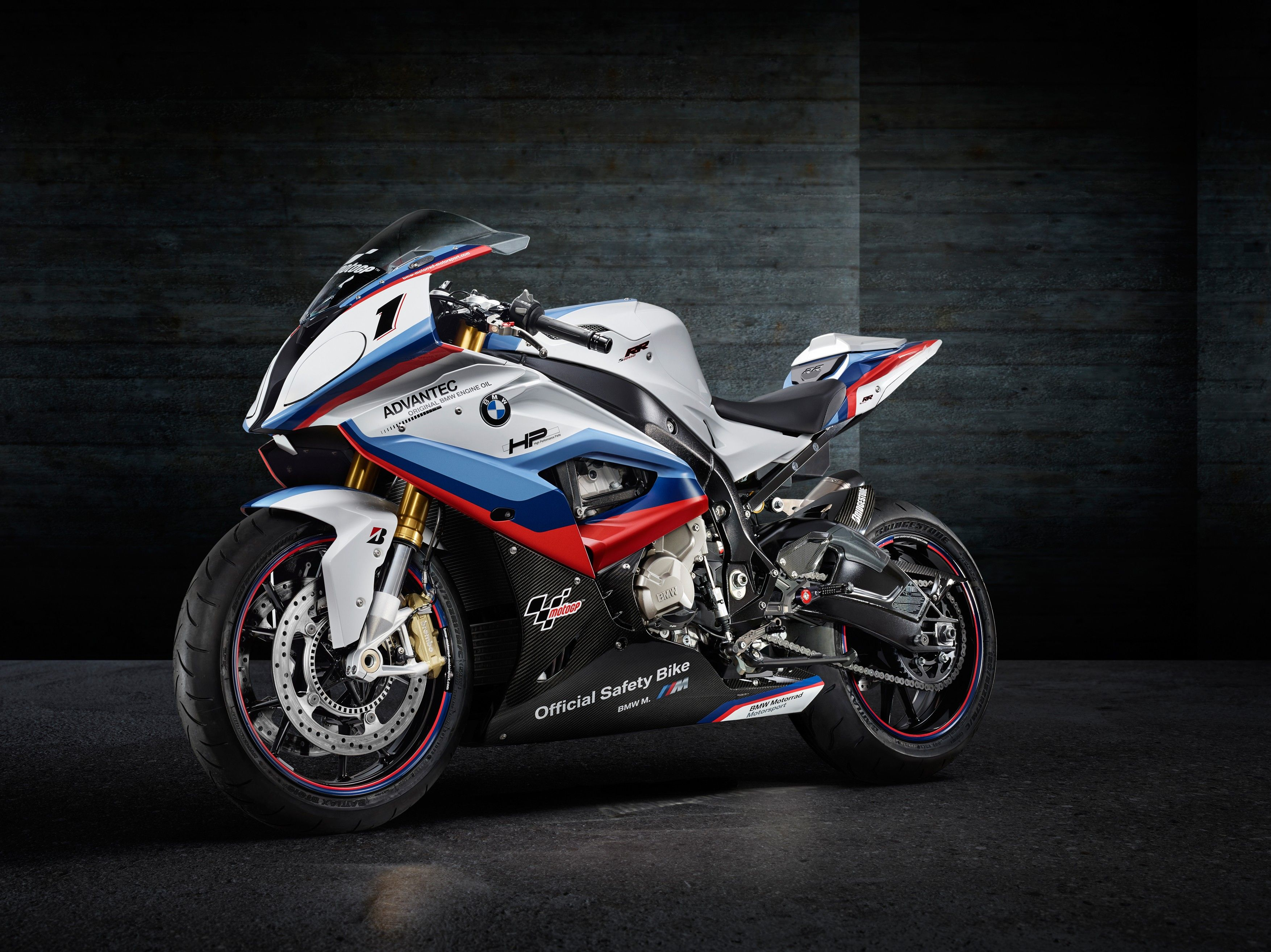 Motorcycle BMW S1000RR, 2017 wallpapers and image
