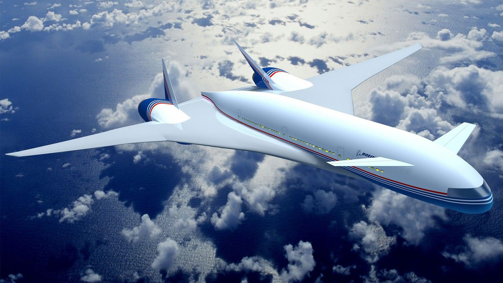 Free Boeing Concept Plane Hd Wallpapers Download