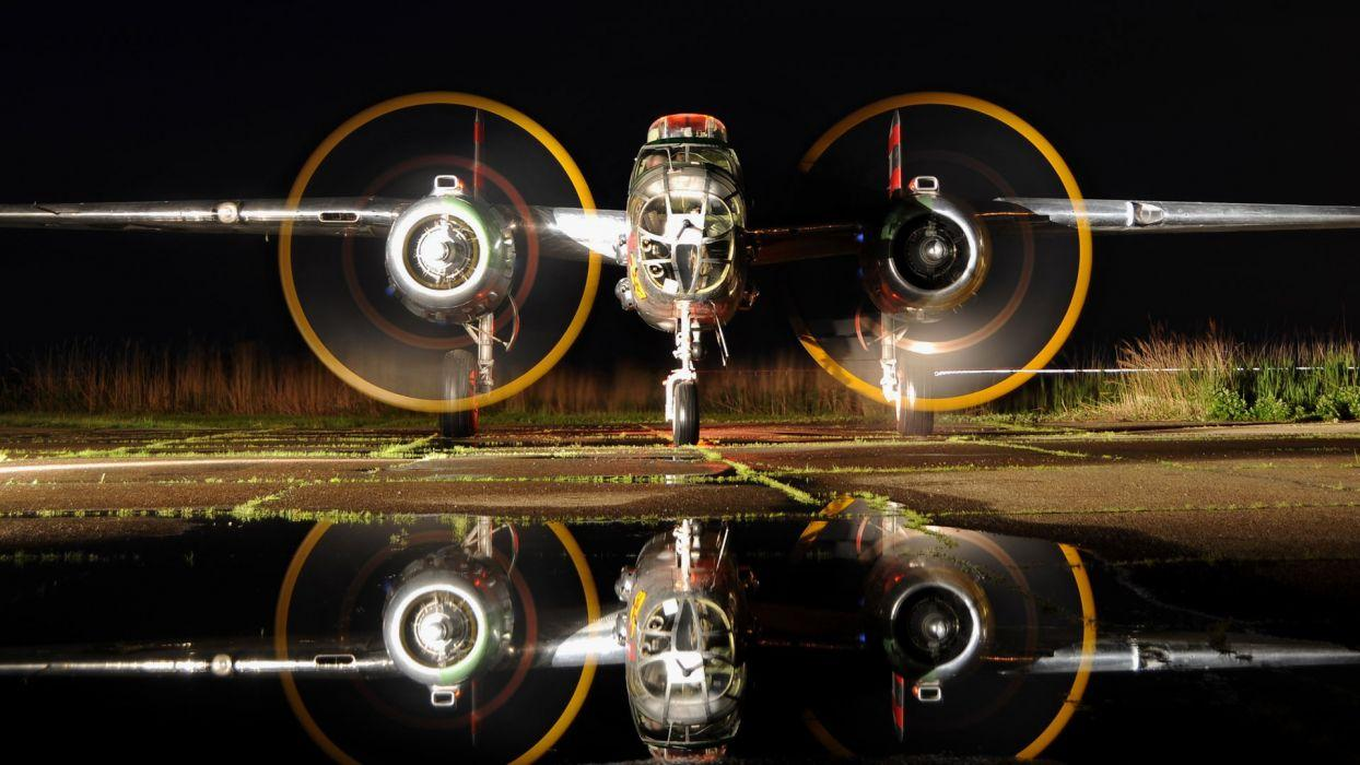 Airplane Plane WWII Timelapse Reflection vehicles aircraft military