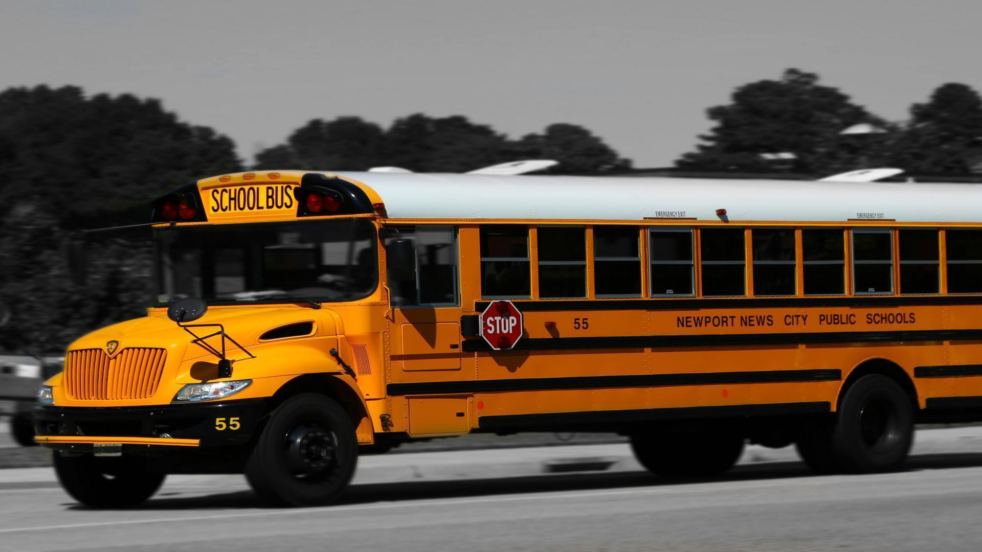 Image For > School Bus Wallpapers