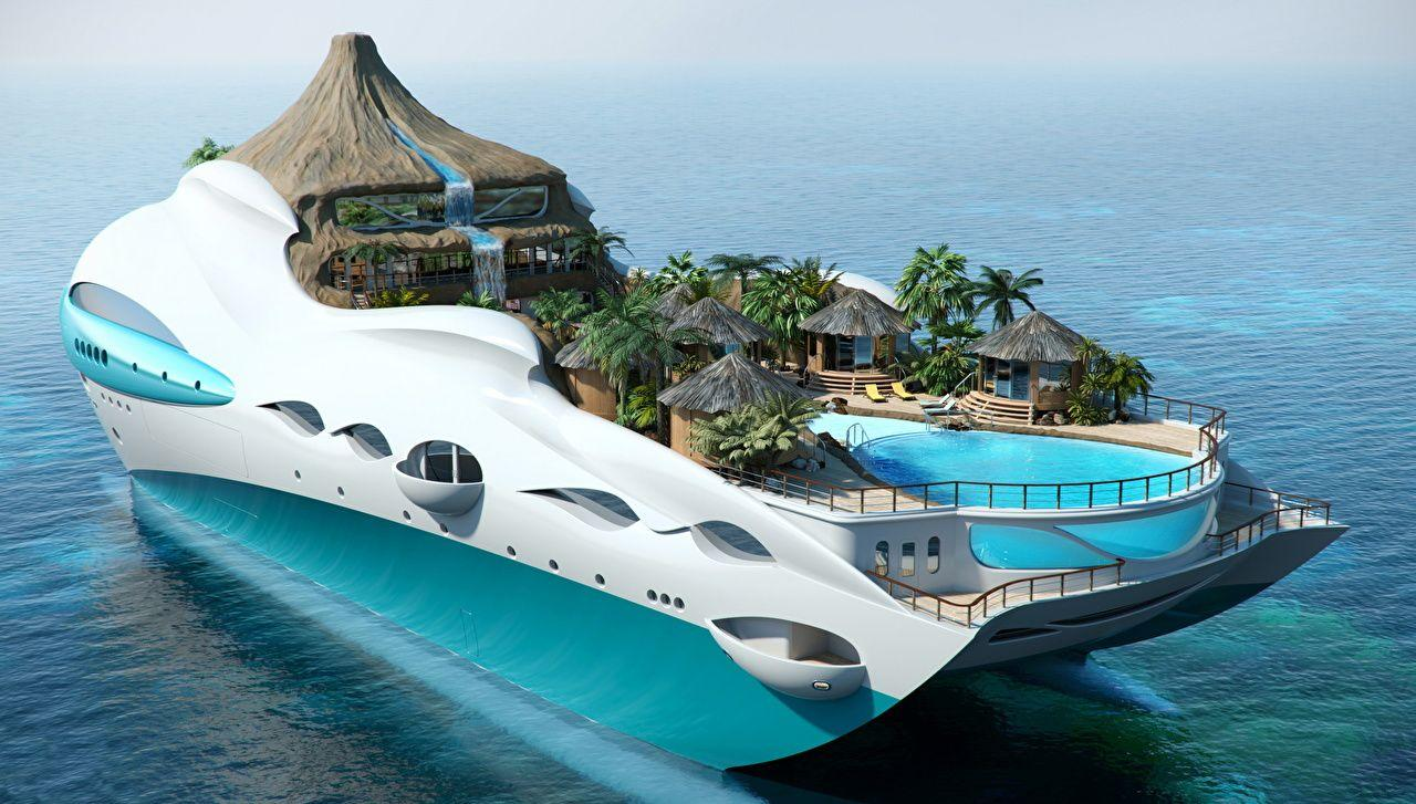 Luxury yachts wallpapers