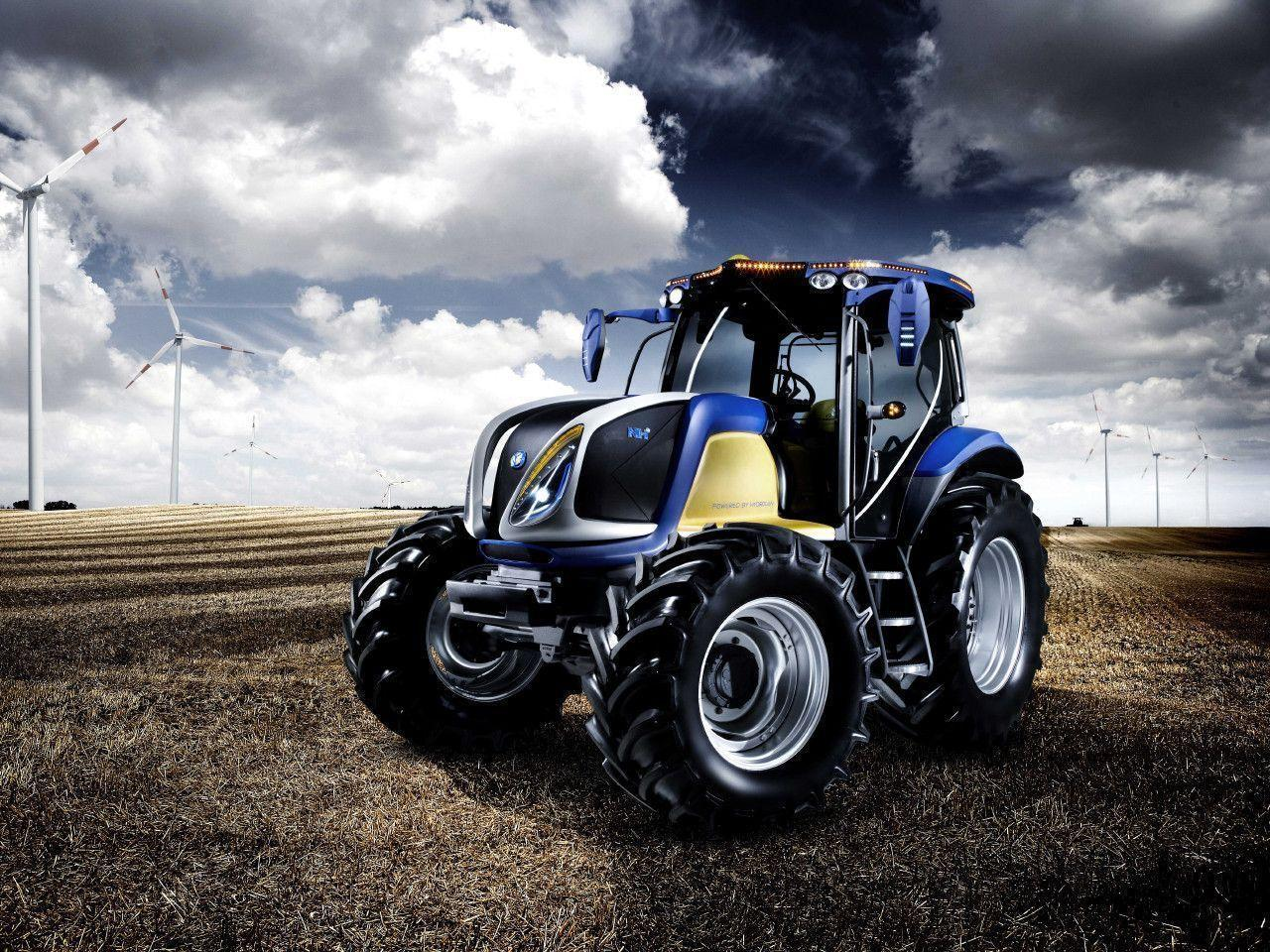 5 New Holland Tractor Wallpapers