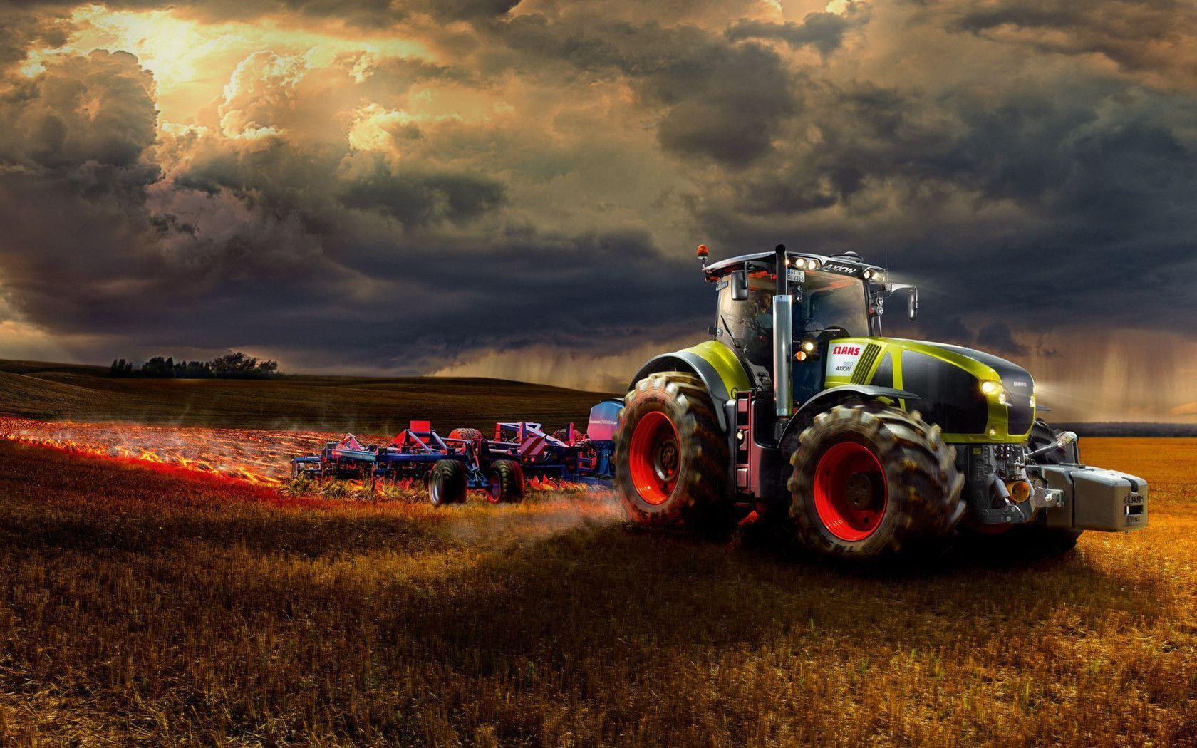 Class tractor Wallpapers
