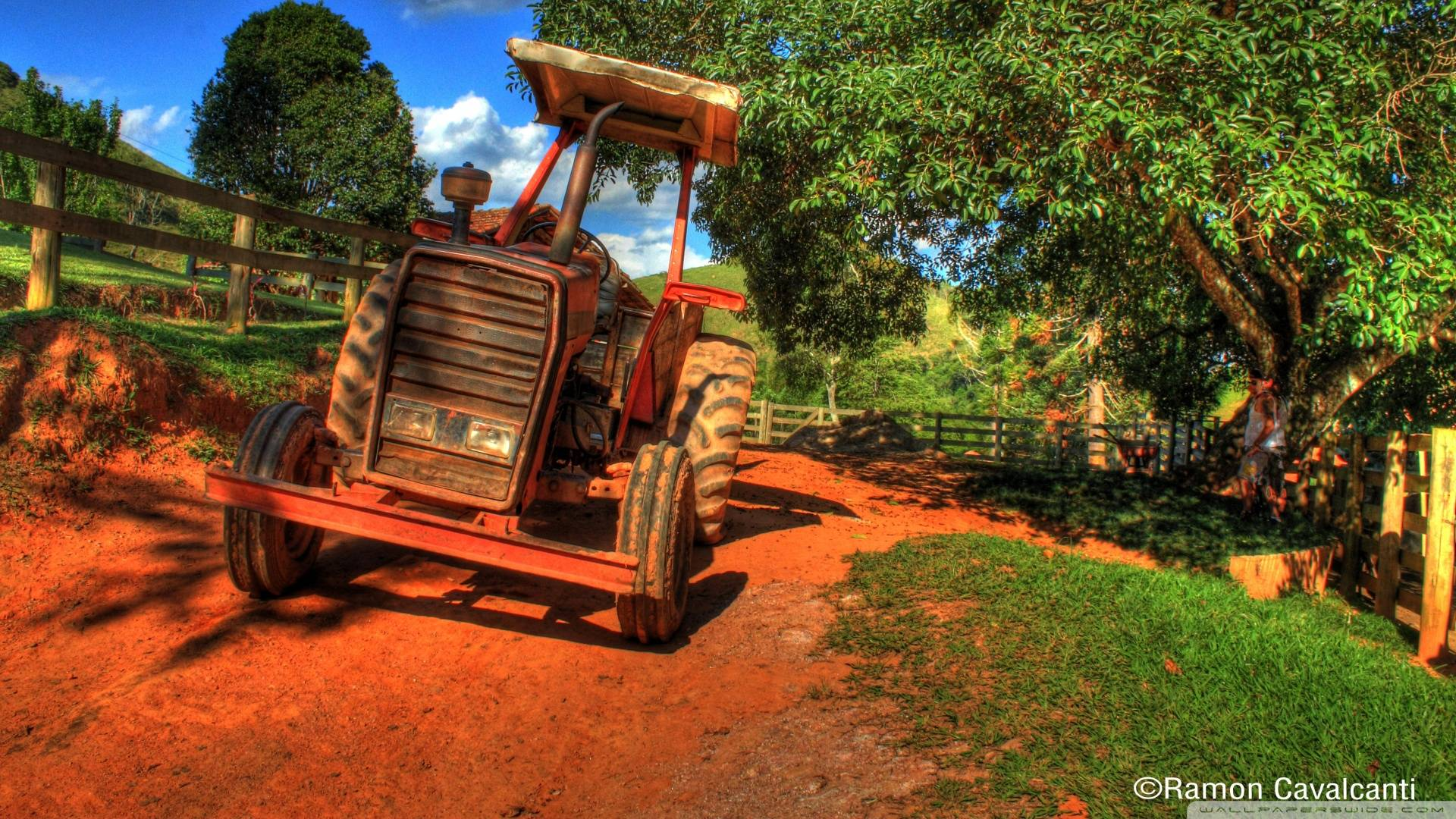 Wallpapers For > Tractor Wallpapers Hd
