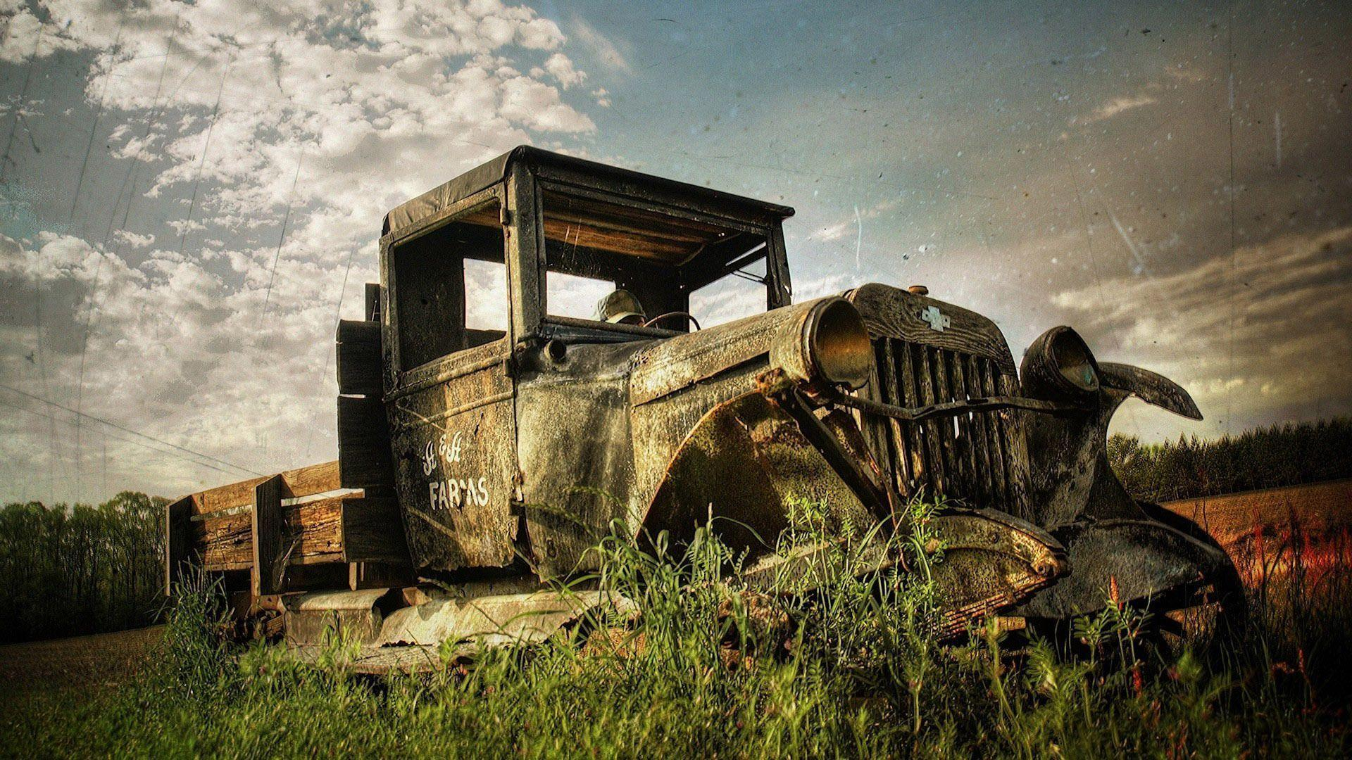 Rusty tractor wallpapers #