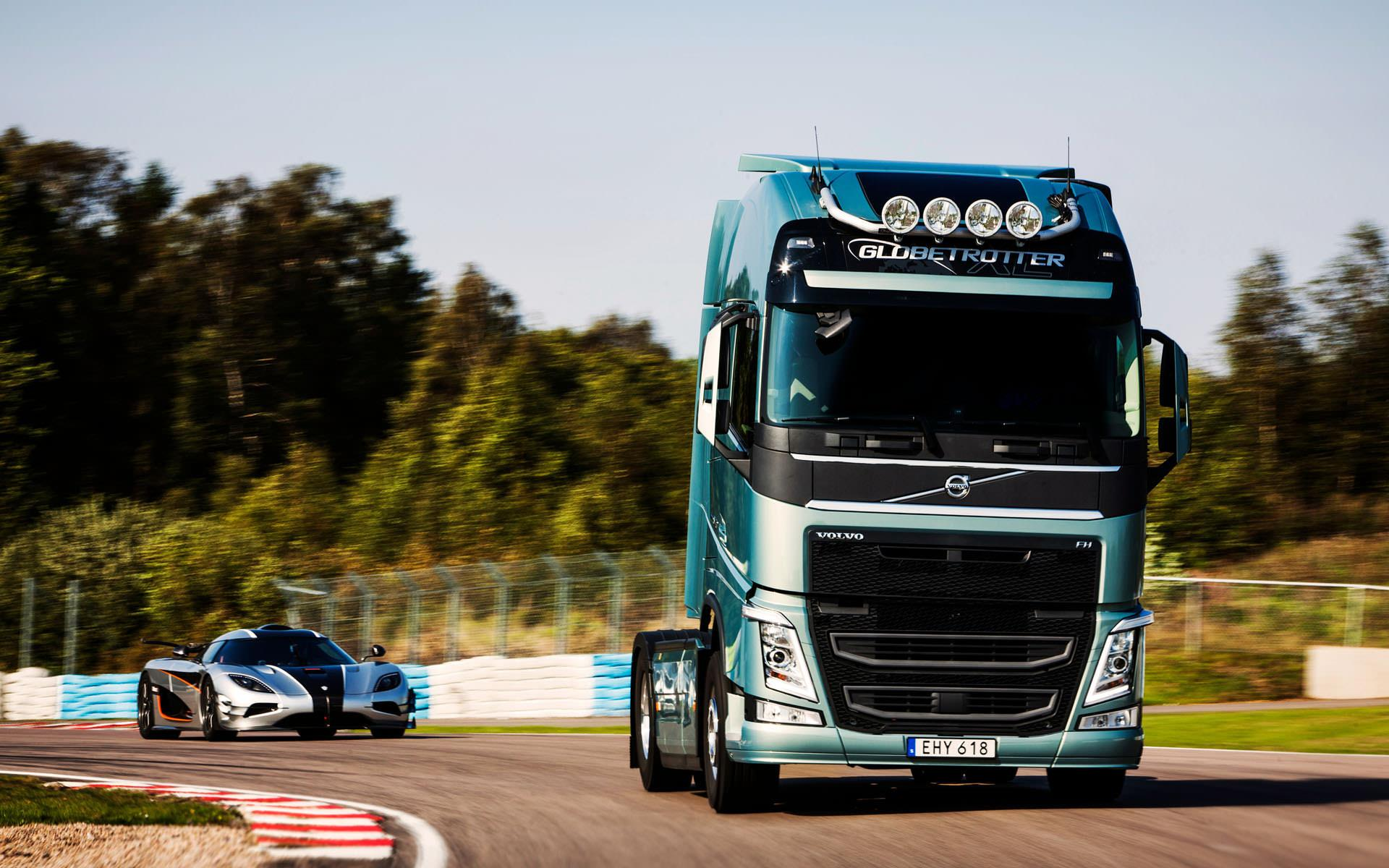 Volvo FH HD wallpapers