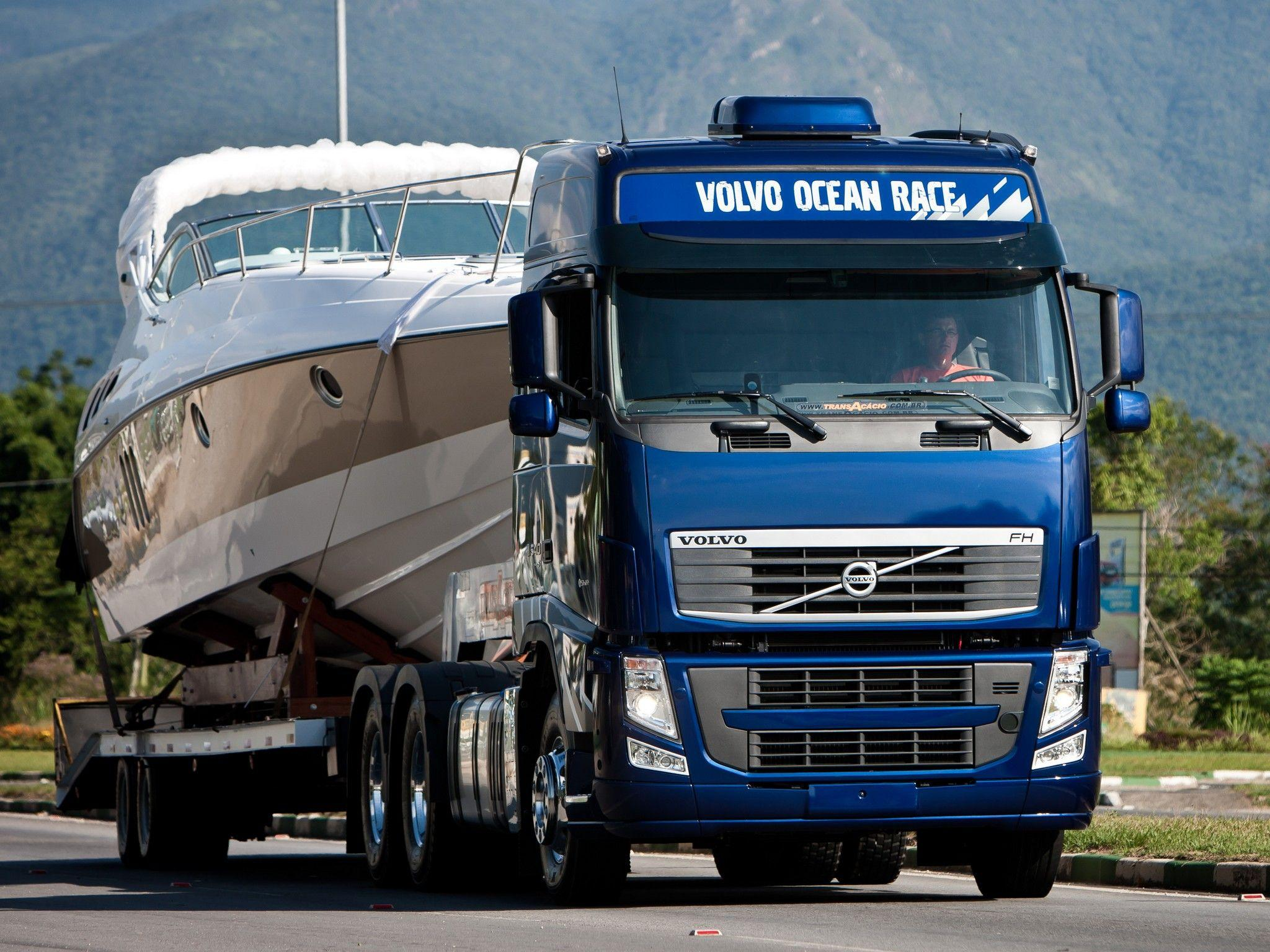 2012 Volvo FH 540 6x4 semi tractor wallpapers