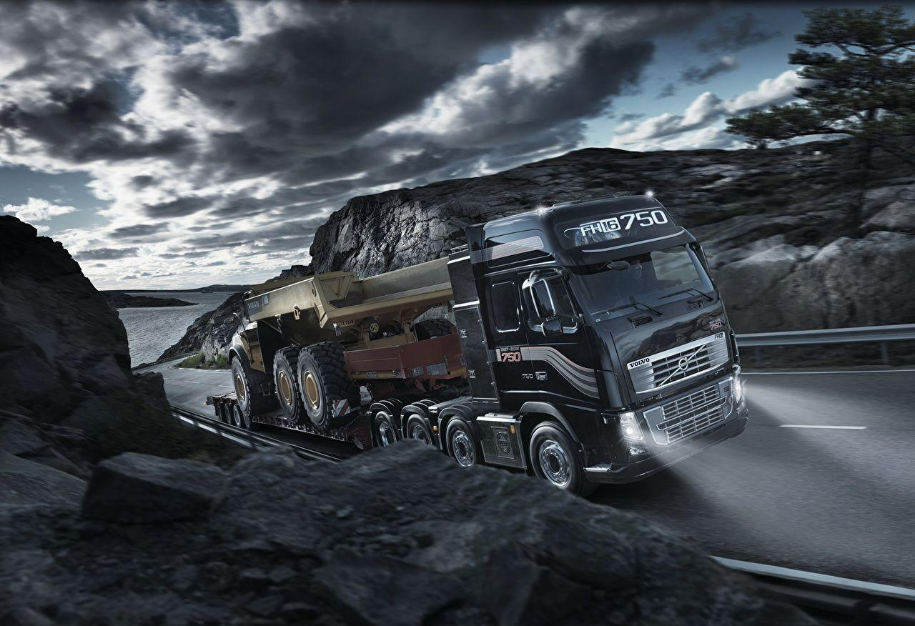 Wallpapers Volvo lorry FH16 Cars