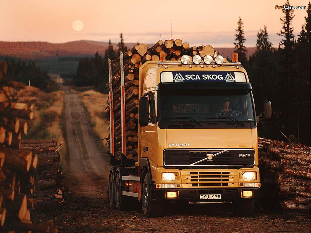 Volvo FH12 Timber Truck 1993–2002 wallpapers