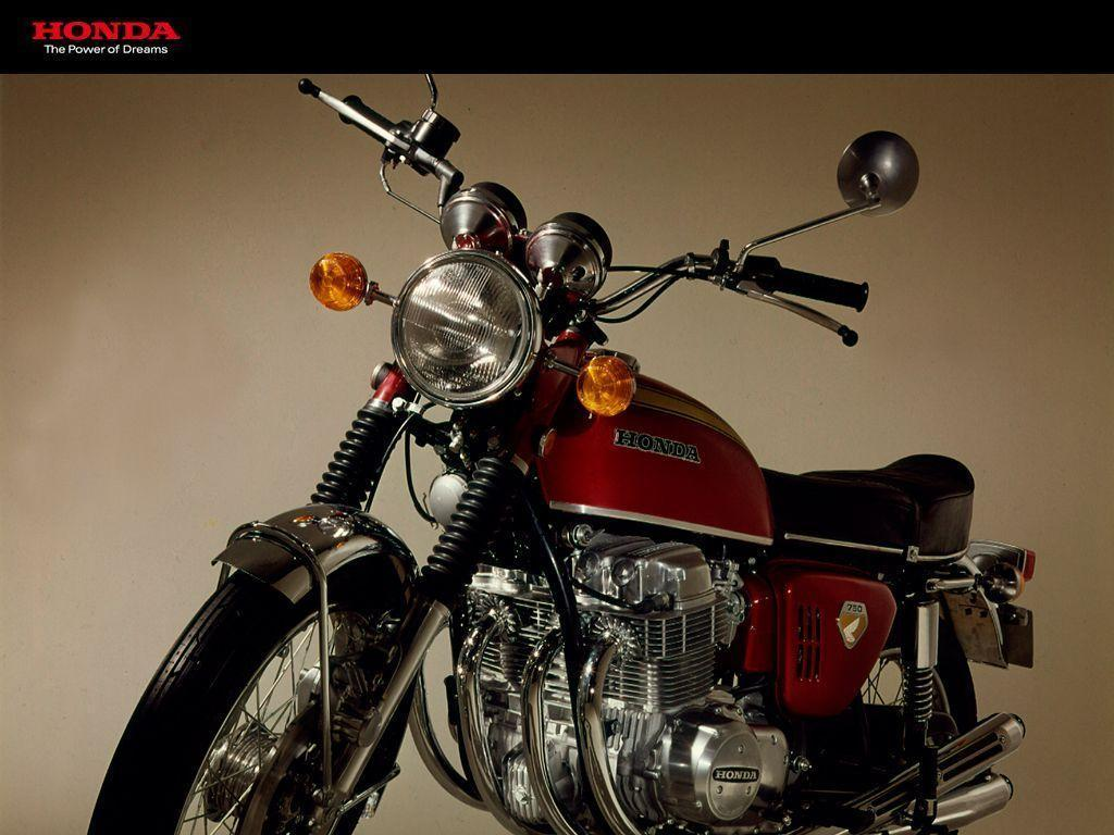 Wednesday Wall: 100 vintage Honda motorcycle wallpapers for your