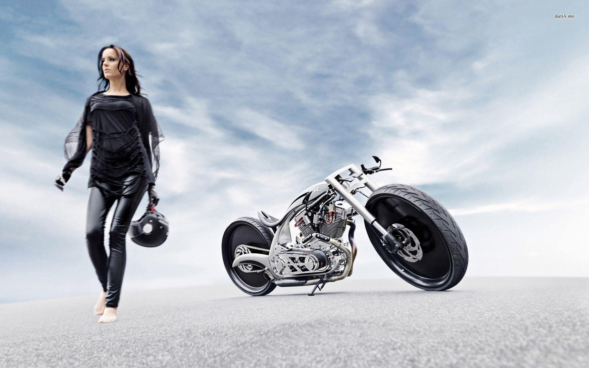 Vehicles For > Motorcycle Vintage Wallpapers