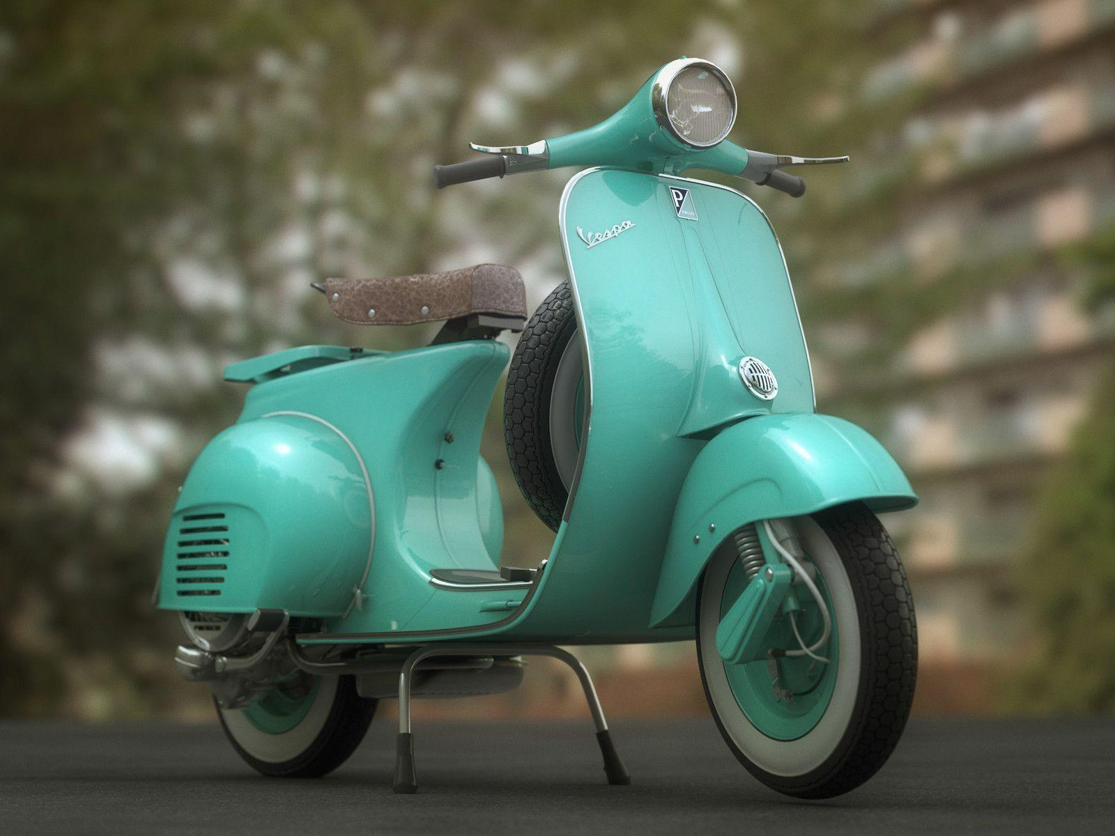 Classic Vespa Wallpapers HD Wallpapers