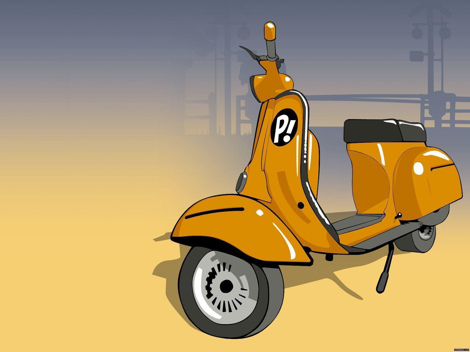 1 Vespa Scooter Wallpapers