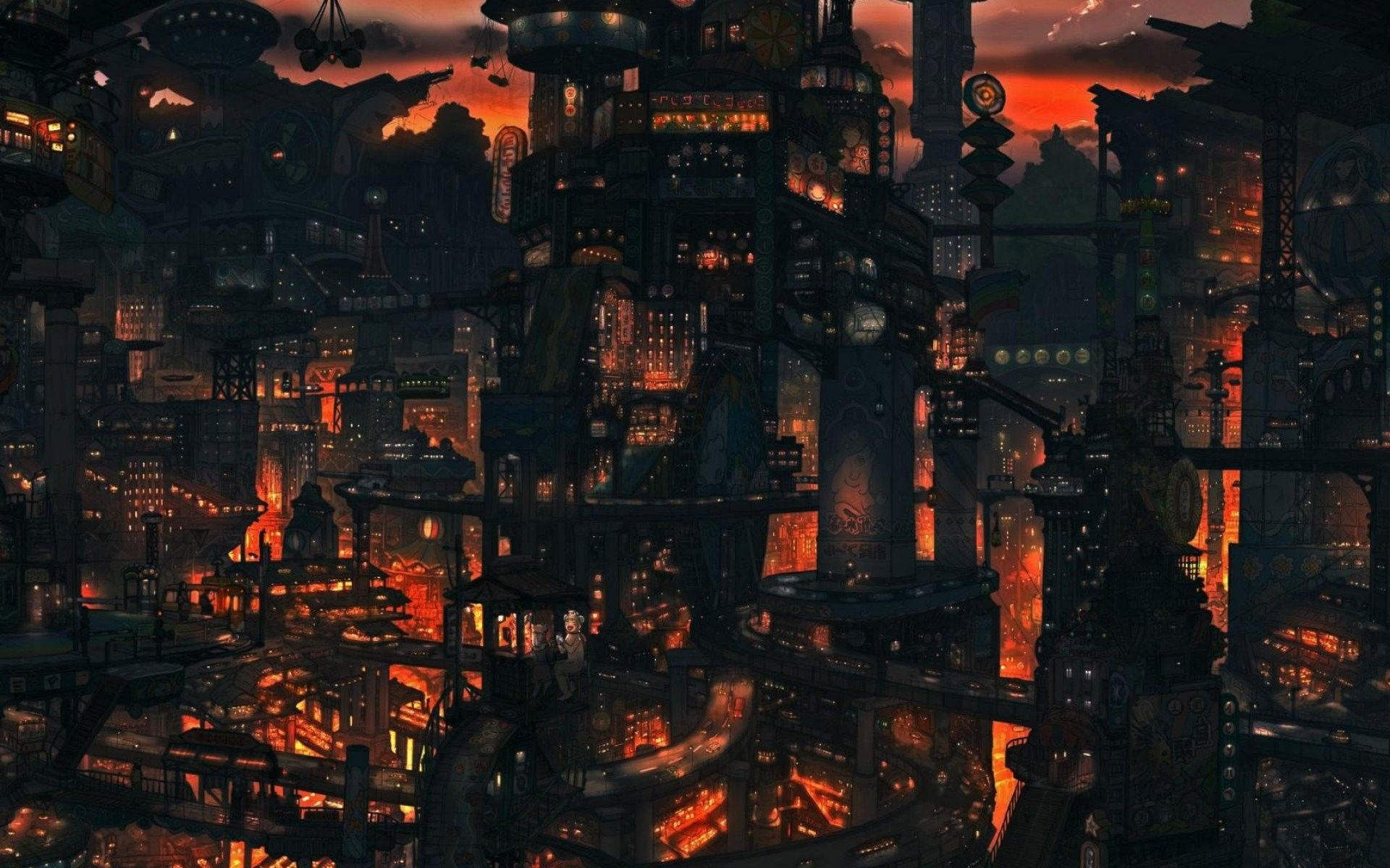 Aesthetic Anime Wallpapers City