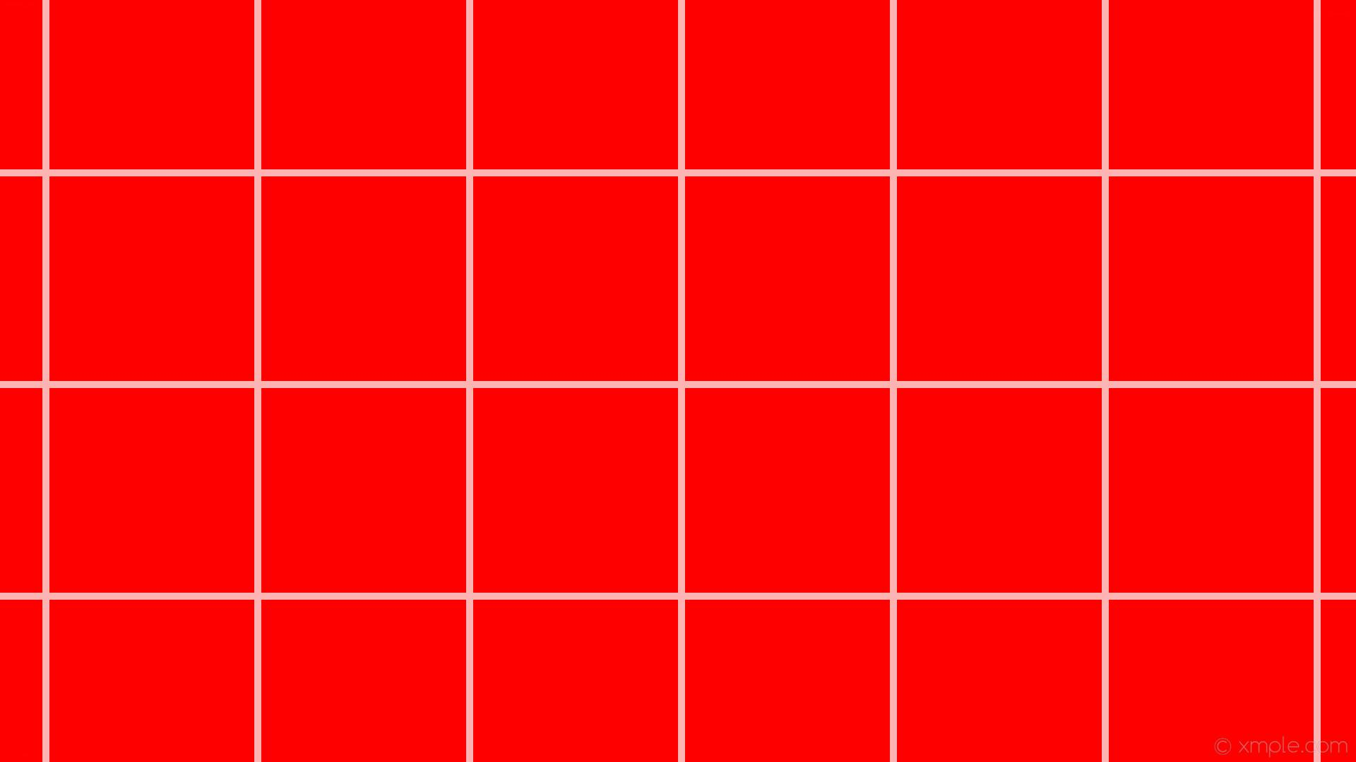 Red And White Aesthetic Grid Wallpapers