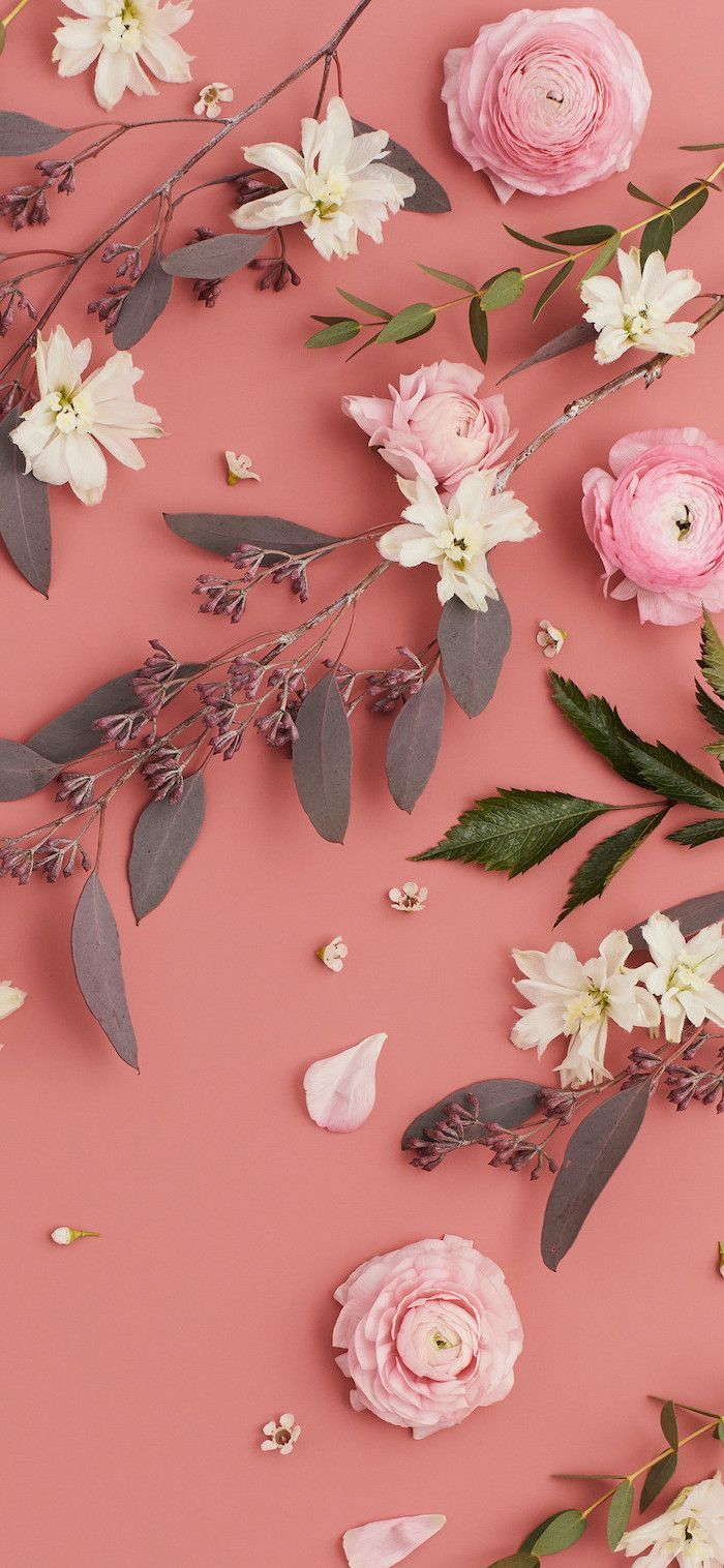 Pink & White Aesthetic wallpapers