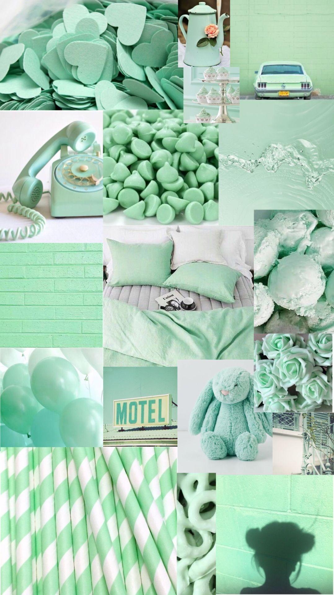 Pastel Green Aesthetic Wallpapers