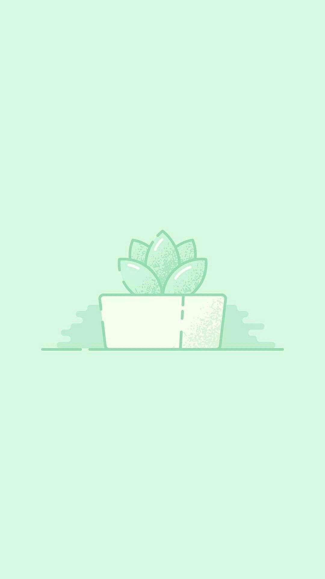 Iphone Mint Green Aesthetic Wallpapers