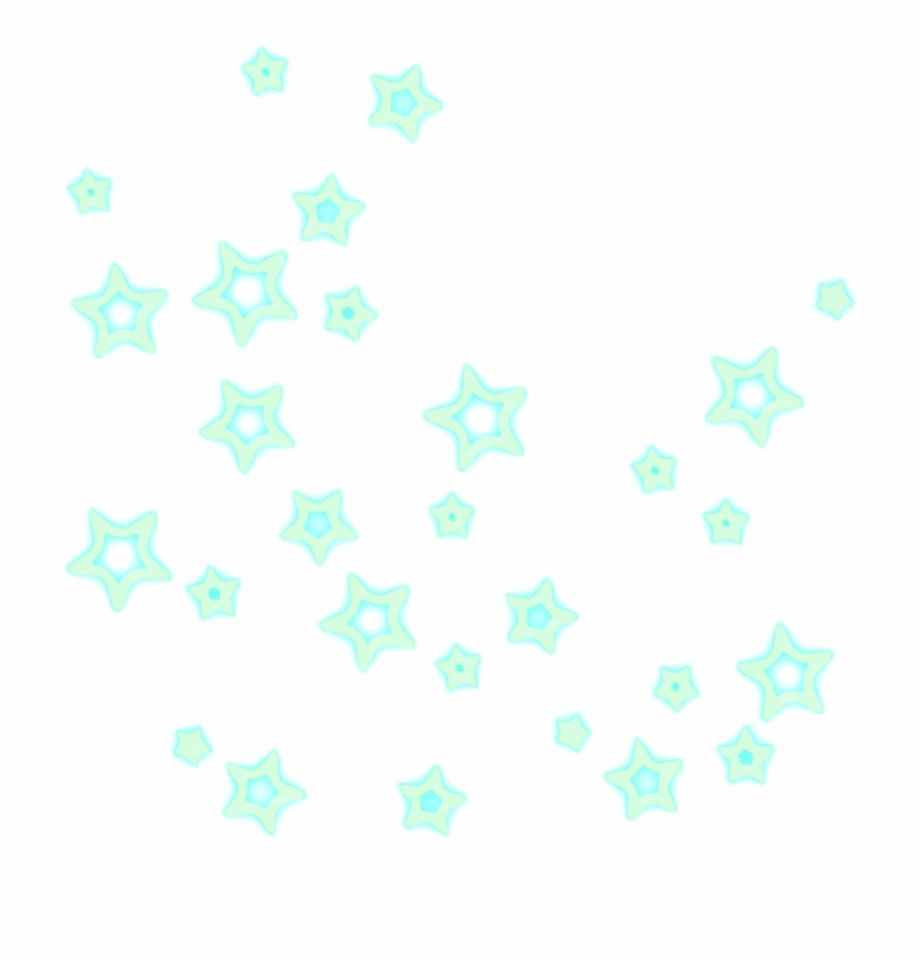 Star Sparkle Glow Green Aesthetic ...vippng