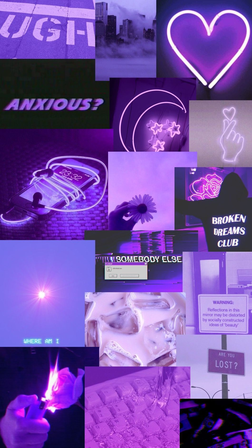 Blue and Purple Aesthetic Wallpapers