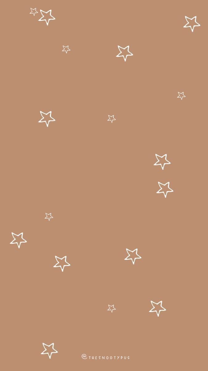 Earth tone warm star wallpapers