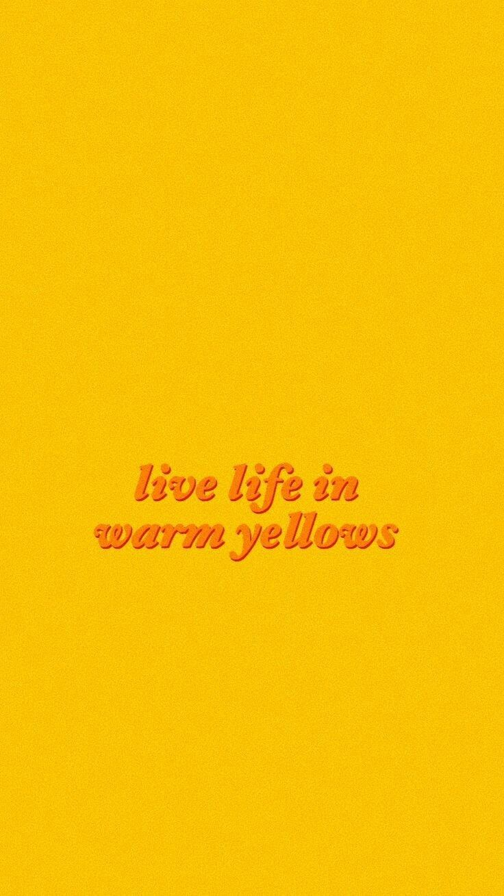 Aesthetic Yellow Live Wallpapers